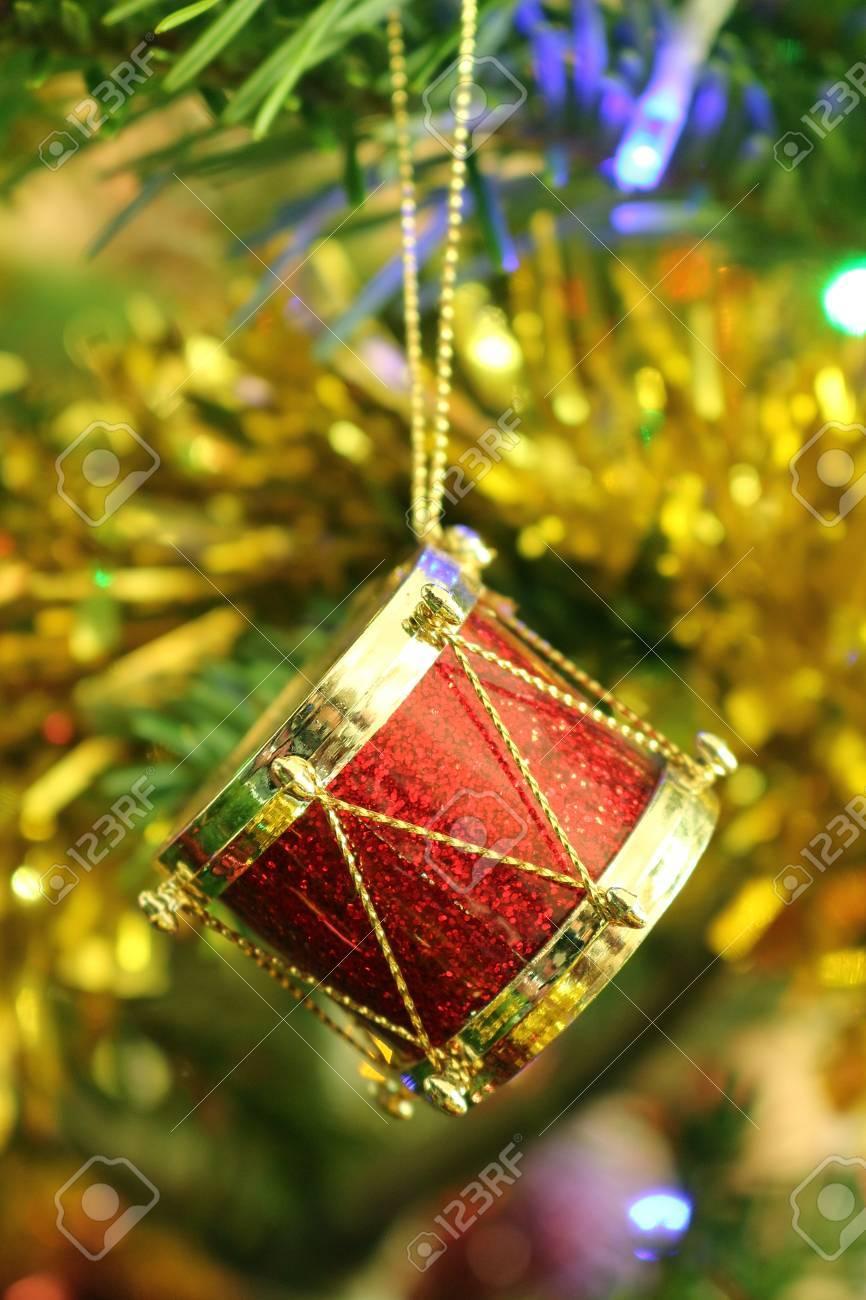 Christmas Drum.Christmas Drum Decoration