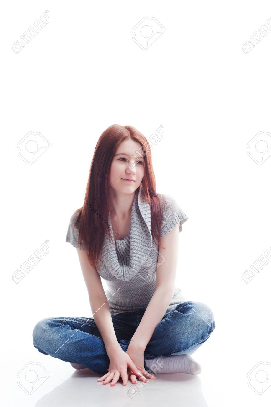 Legged Girls Cross Why Sit Do