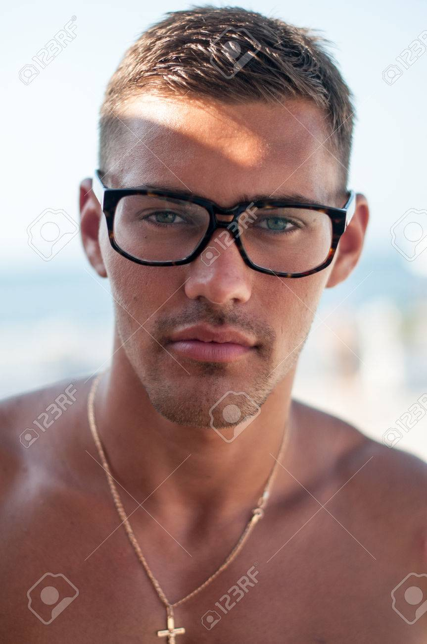 men with glasses