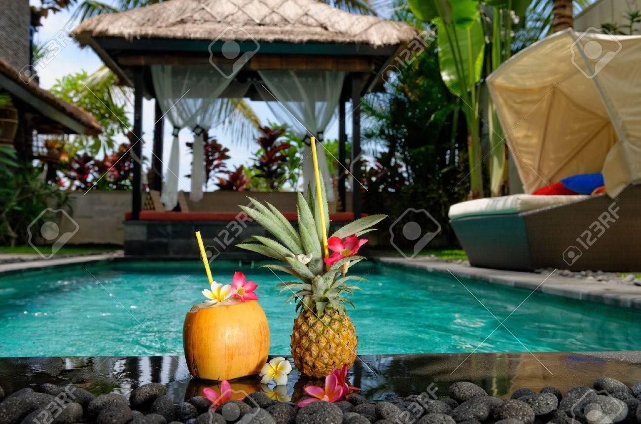 Villa on Bali Island