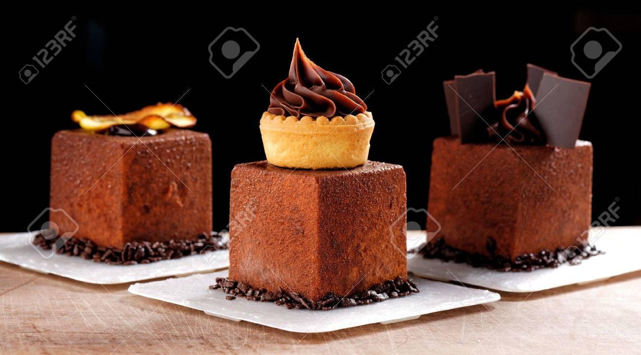 Gourmet Abendessen Franzosisch Dunkle Schokolade Gourmet Mignon