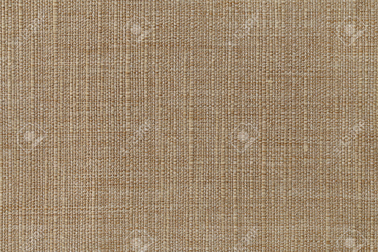 Fabric texture canvas. Cotton background. Detail close up for dress or other modern fashion textile print. Beige textured design. - 169305288
