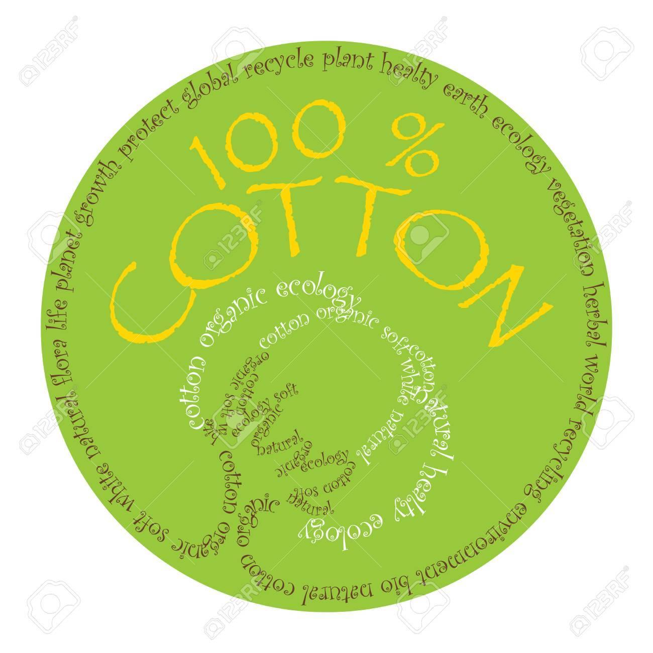 cotton symbol Stock Vector - 7396171