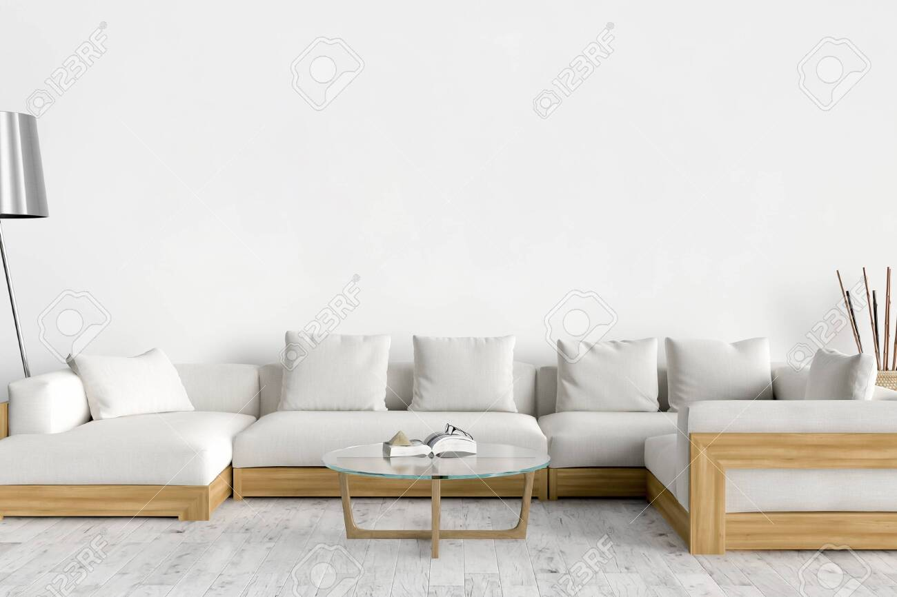 Picture of: Wall Bed And Chair Modern Mid Century Bedside Table And White Bed On White Wall Background Fotos Retratos Imagenes Y Fotografia De Archivo Libres De Derecho Image 142555175