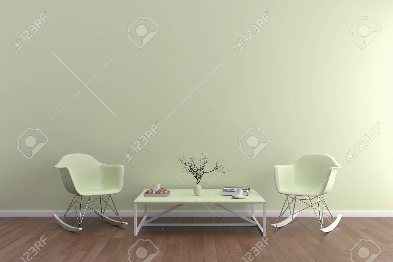 Picture of: Wall Bed And Chair Modern Mid Century Bedside Table And White Bed On White Wall Background Fotos Retratos Imagenes Y Fotografia De Archivo Libres De Derecho Image 142555230