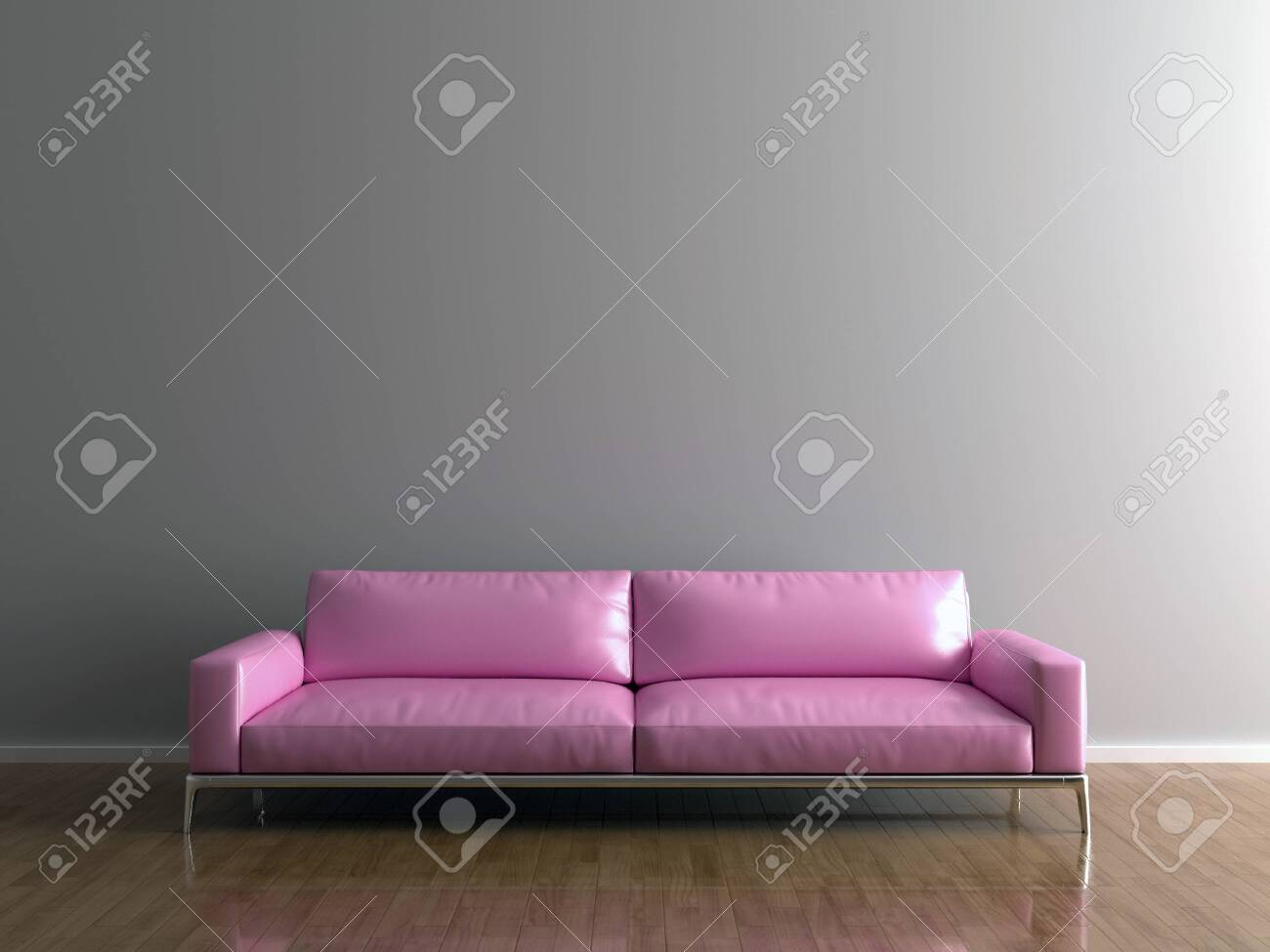 Picture of: Wall Bed And Chair Modern Mid Century Bedside Table And White Bed On Black And Gray Wall Background Fotos Retratos Imagenes Y Fotografia De Archivo Libres De Derecho Image 142555328