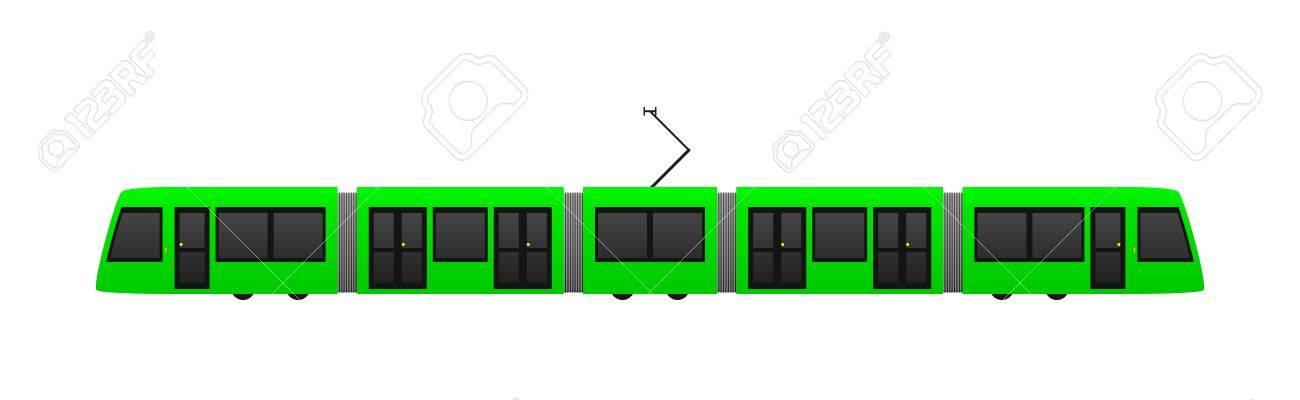 tram Stock Vector - 14079045
