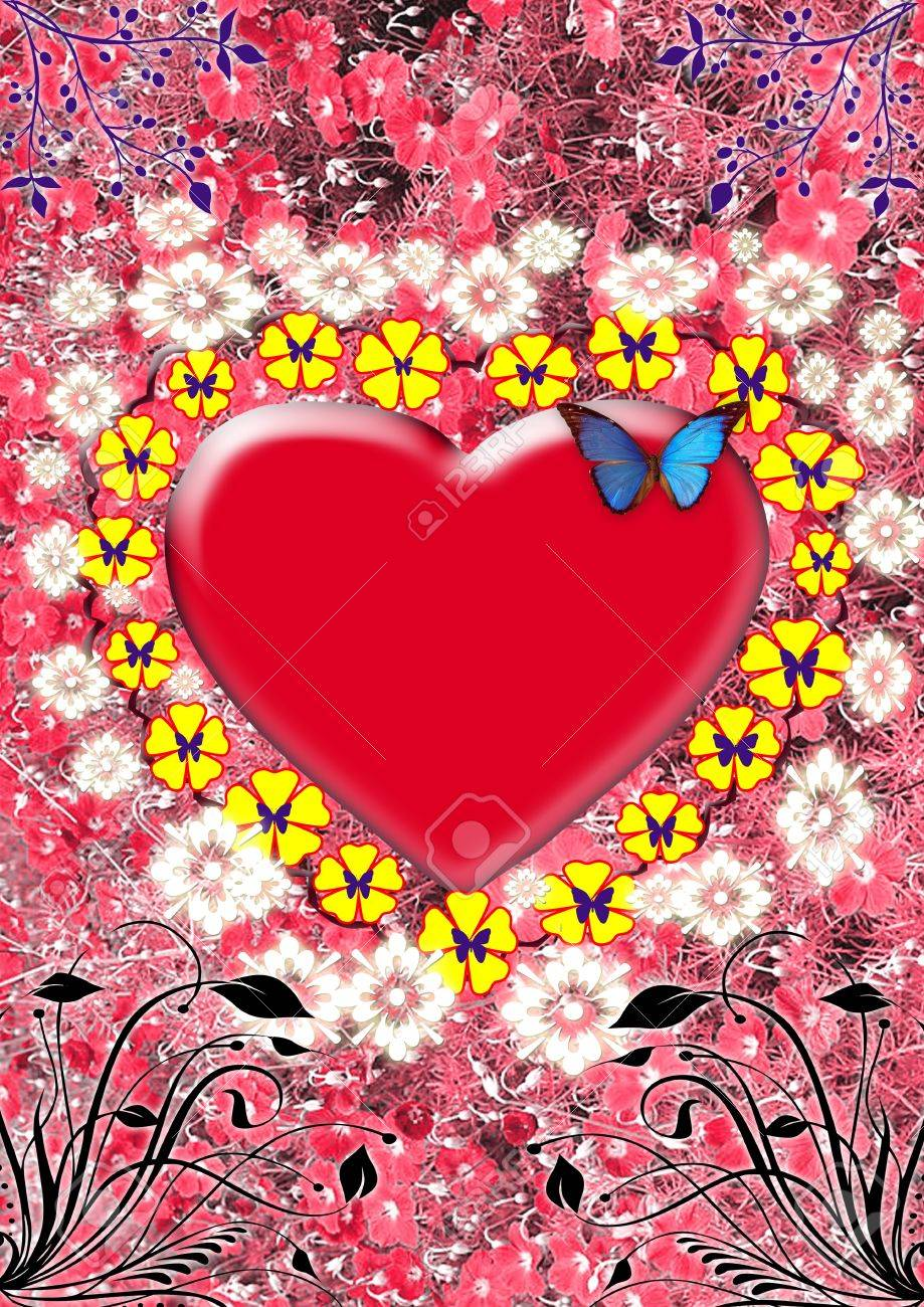 heart for you love, valentines day, art-design, celebrations Stock Photo - 19273824
