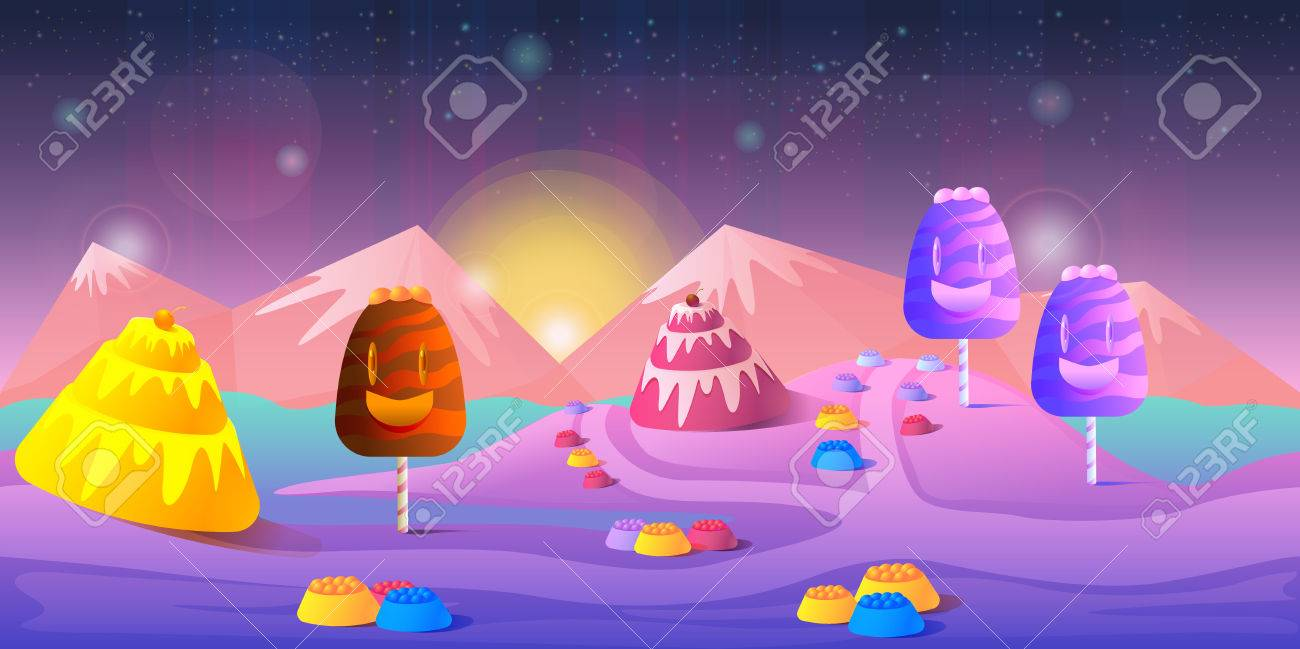 game background 2d game application vector design royalty free