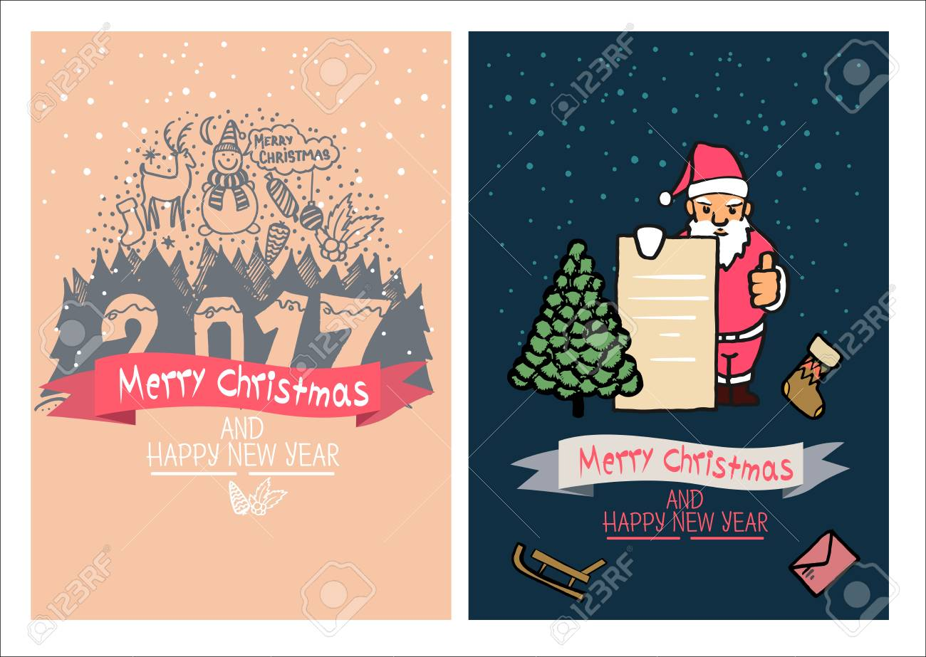 Cute christmas cards family holidays greeting card templates cute christmas cards family holidays greeting card templatestistic hand drawn design for m4hsunfo