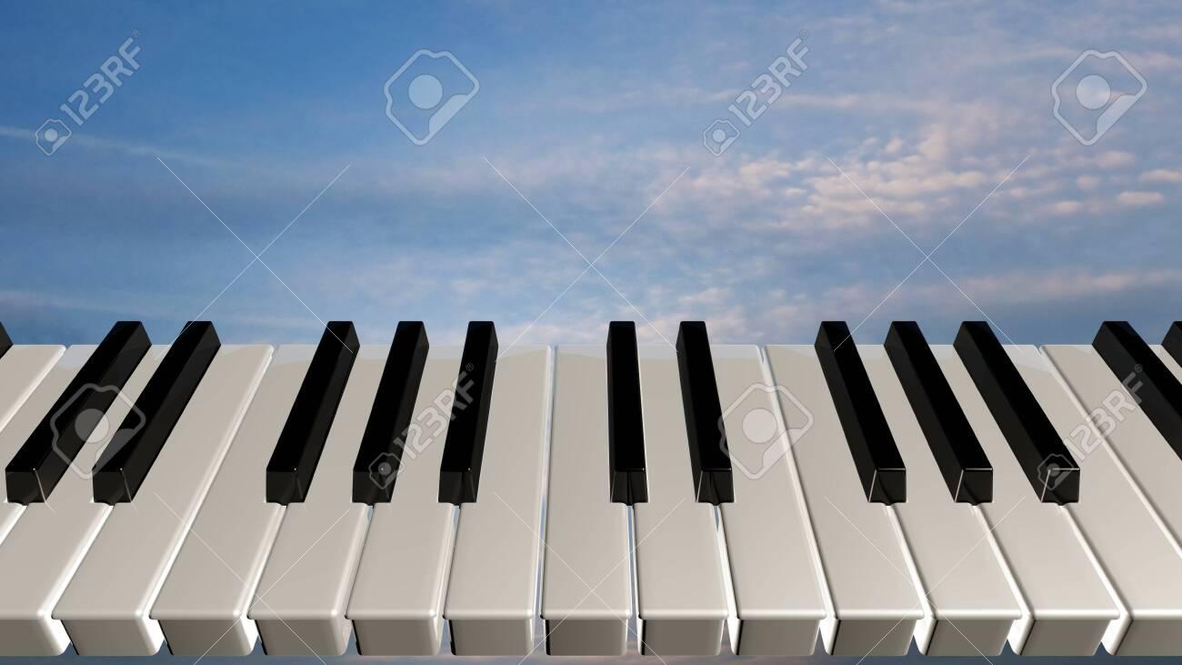 Amazing piano keys - 26274111