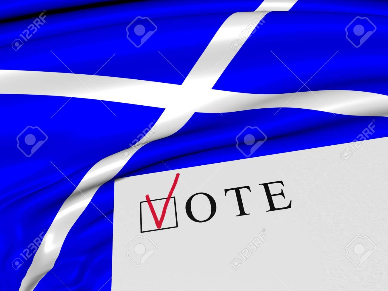 Scotland. Vote. Referendum. - 31392092