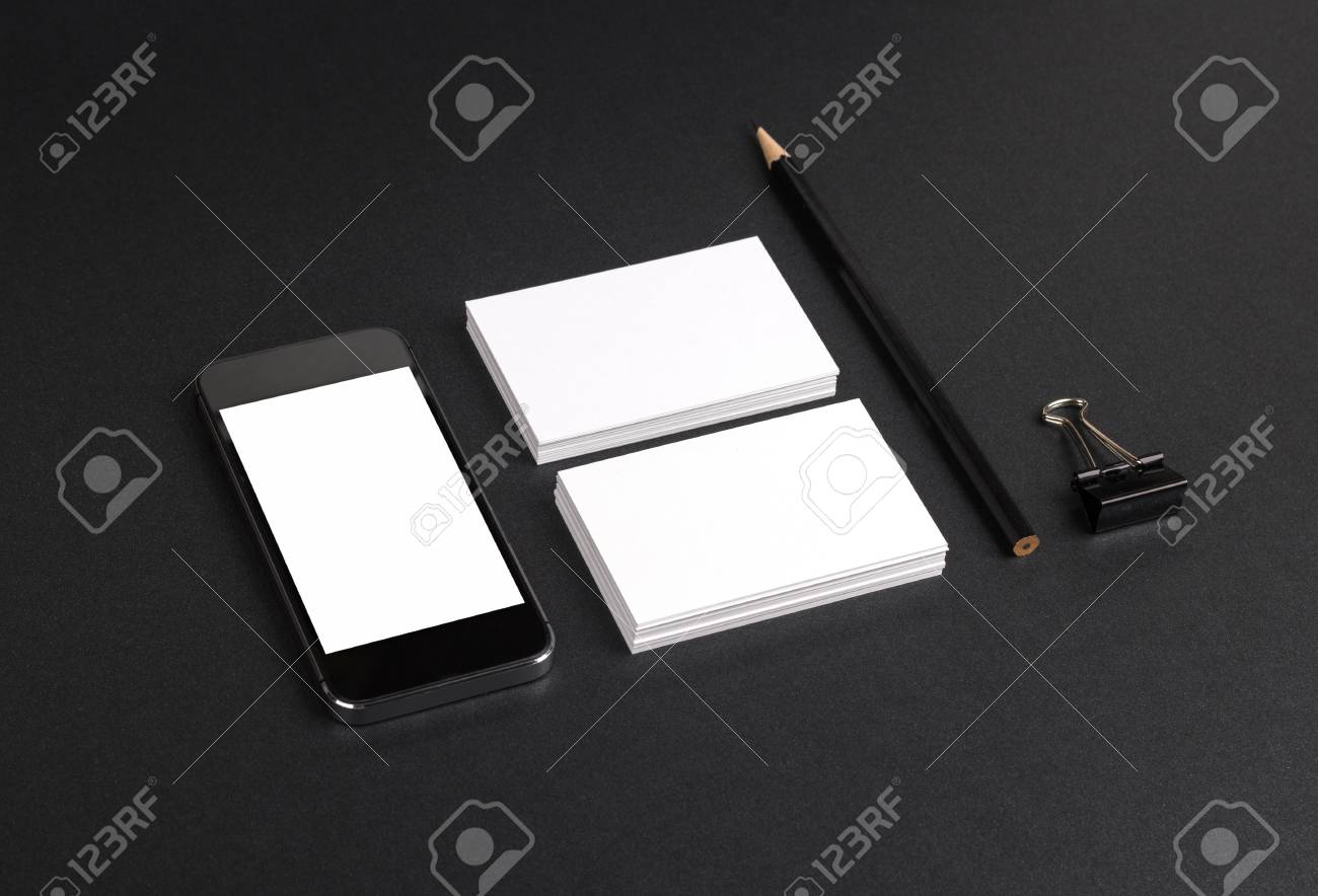 Photo of business cards template for branding identity for stock photo of business cards template for branding identity for graphic designers presentations and portfolios flashek Image collections
