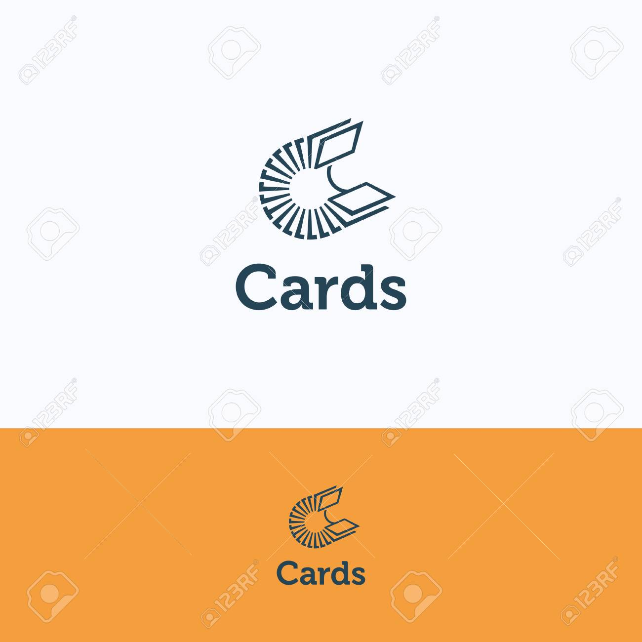 C Letter Alphabet Cards Card Business File-cabinet Card-file ...