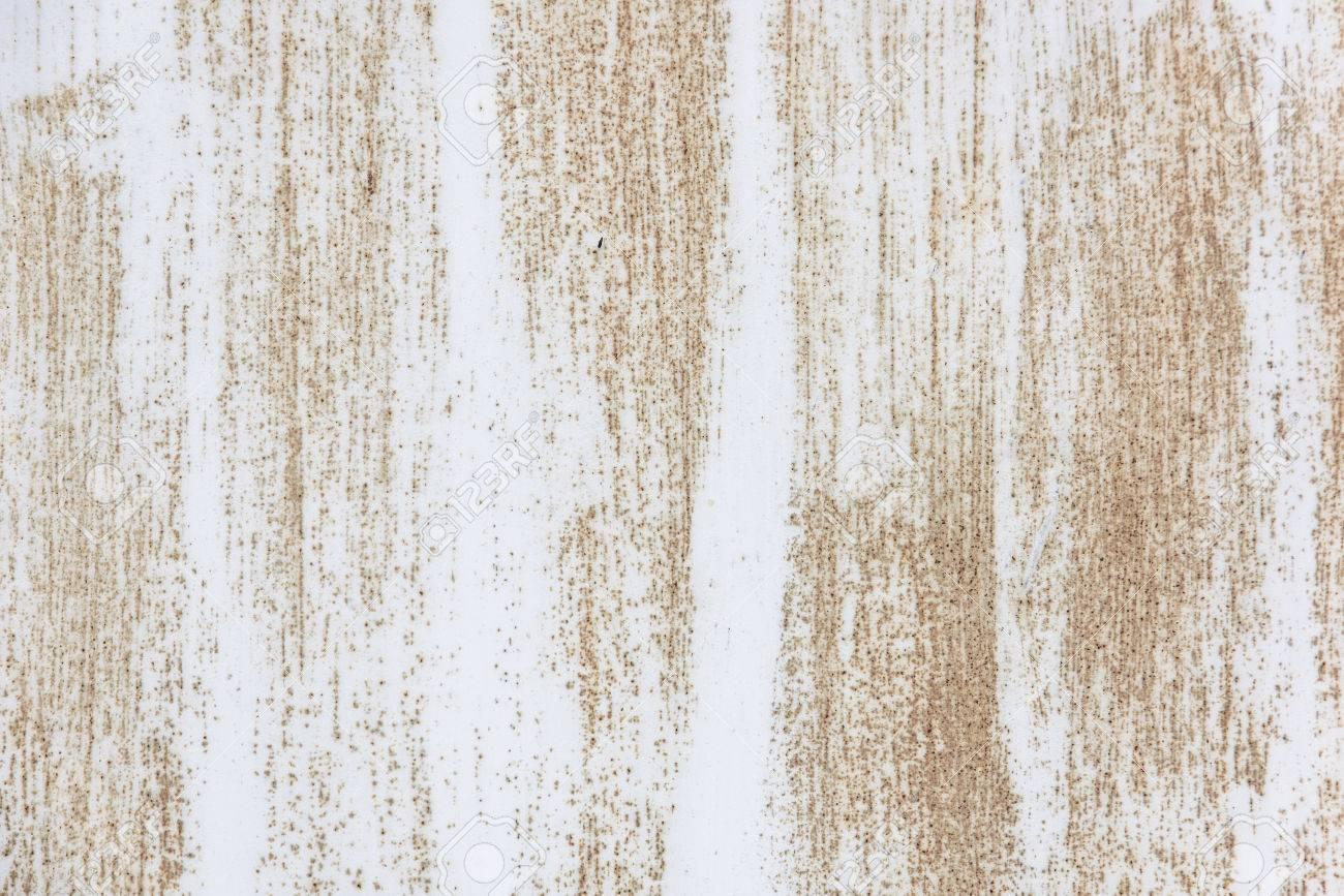 Rusty White Metallic Paint Frame Texture Background Stock Photo