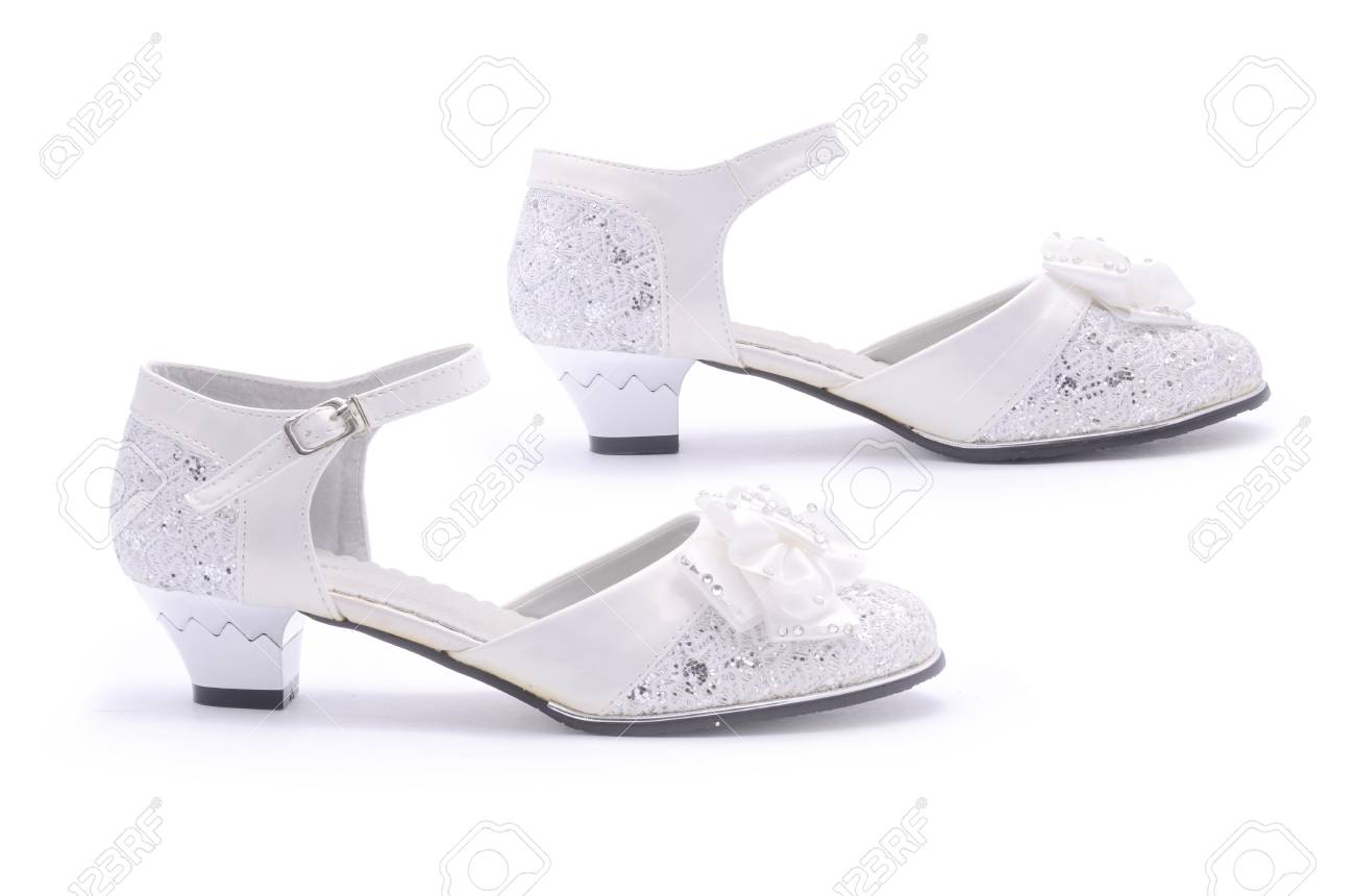 Fancy Shoes For Girls Isolated