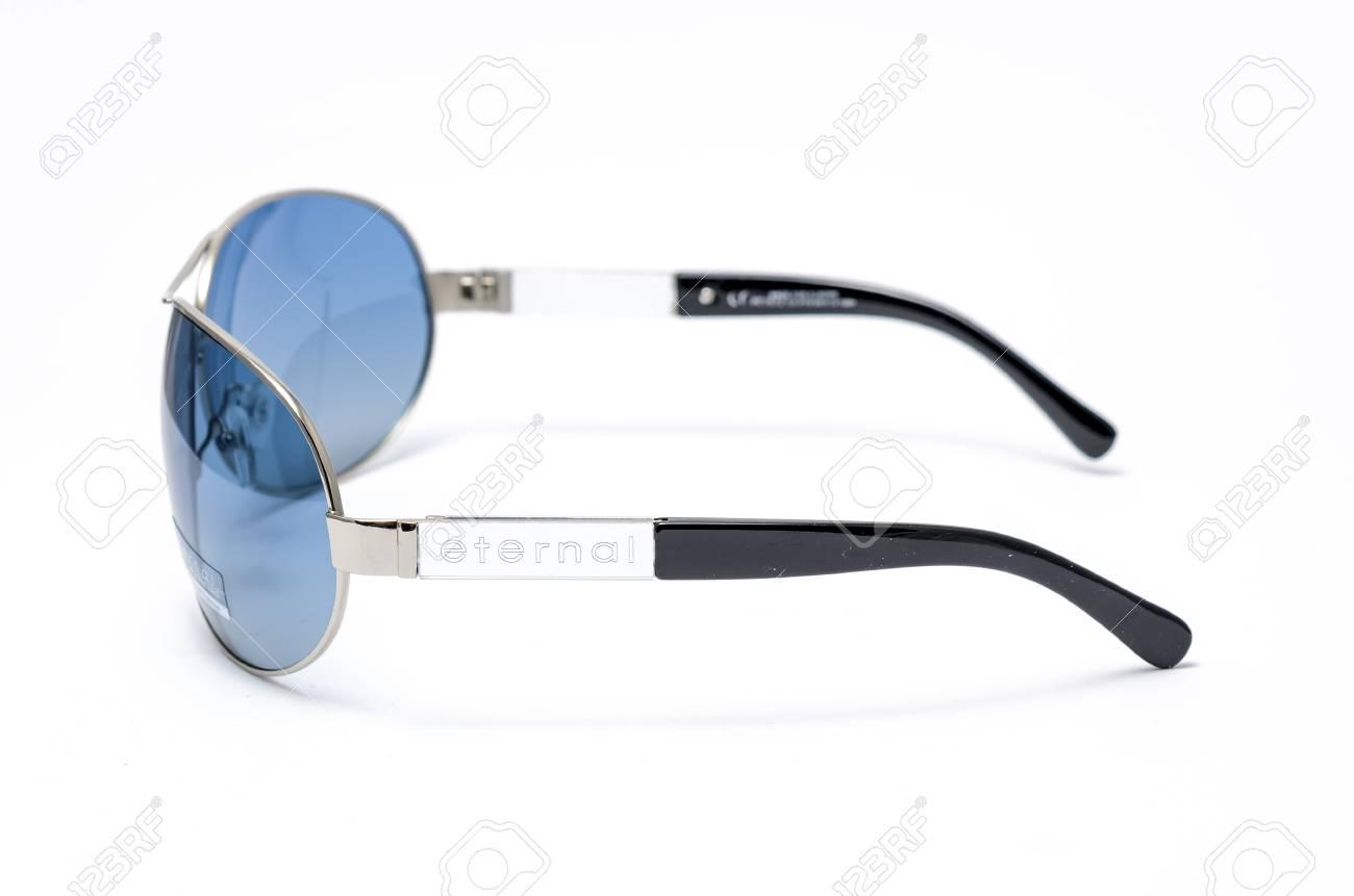 Lunettes soleil verre bleu