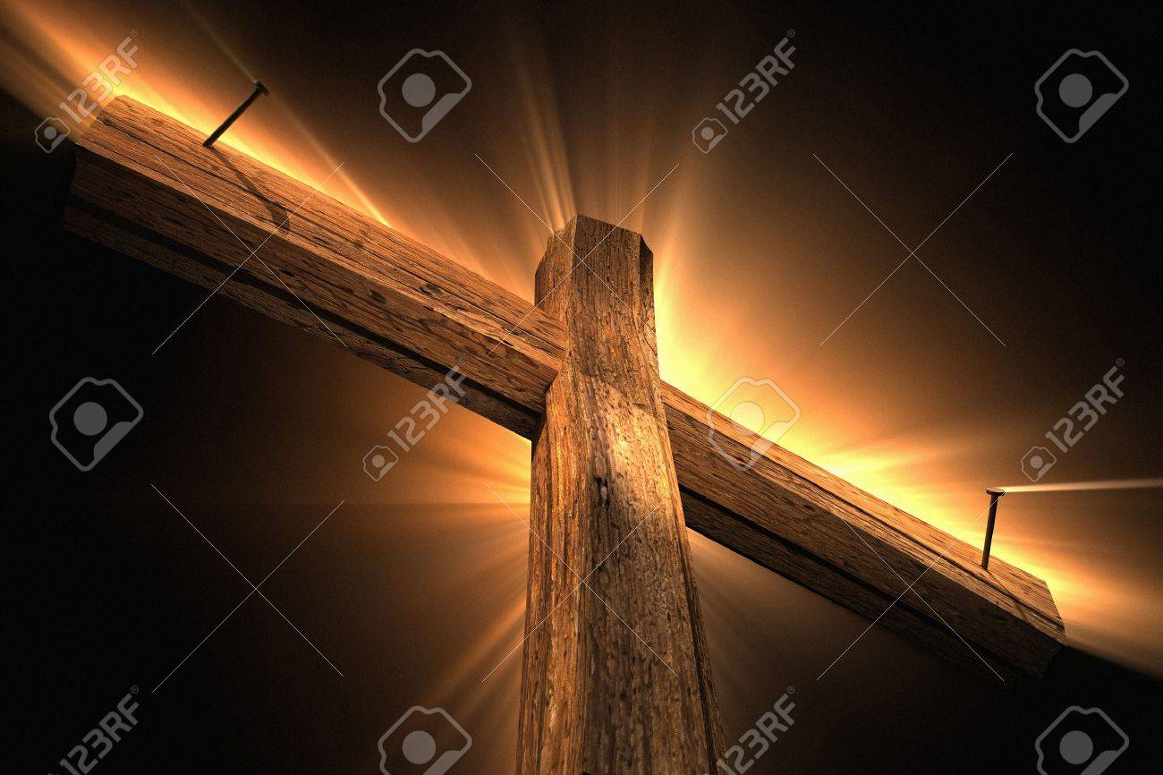 Wooden cross - 21513821