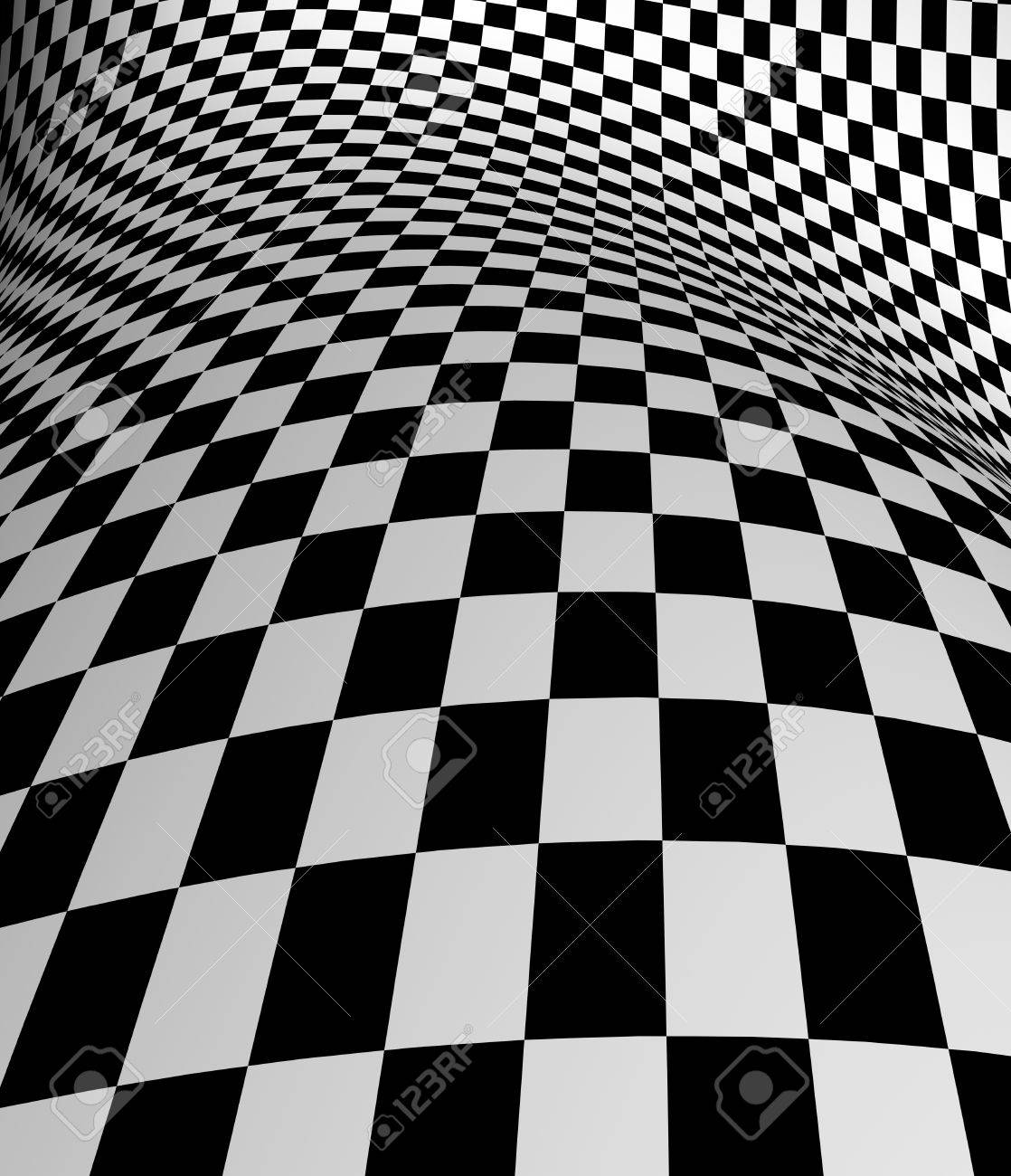 Black White Checkered Plane Stock Photo Picture And Royalty Free