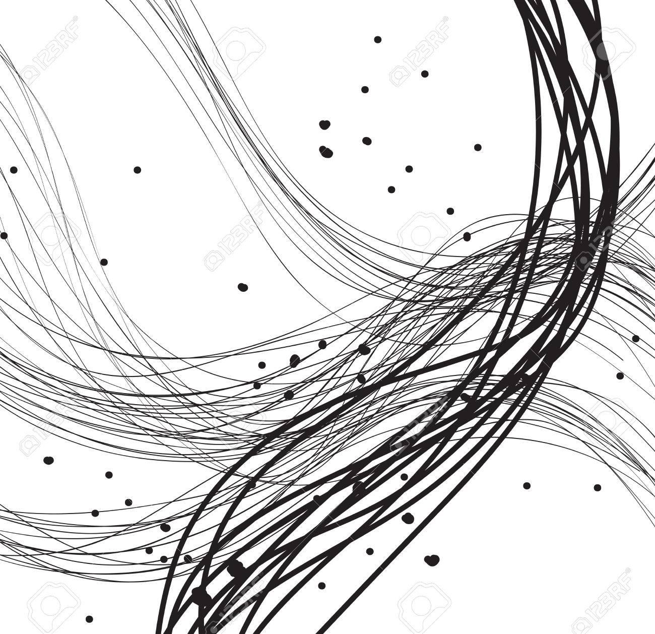 Abstract Linein Art