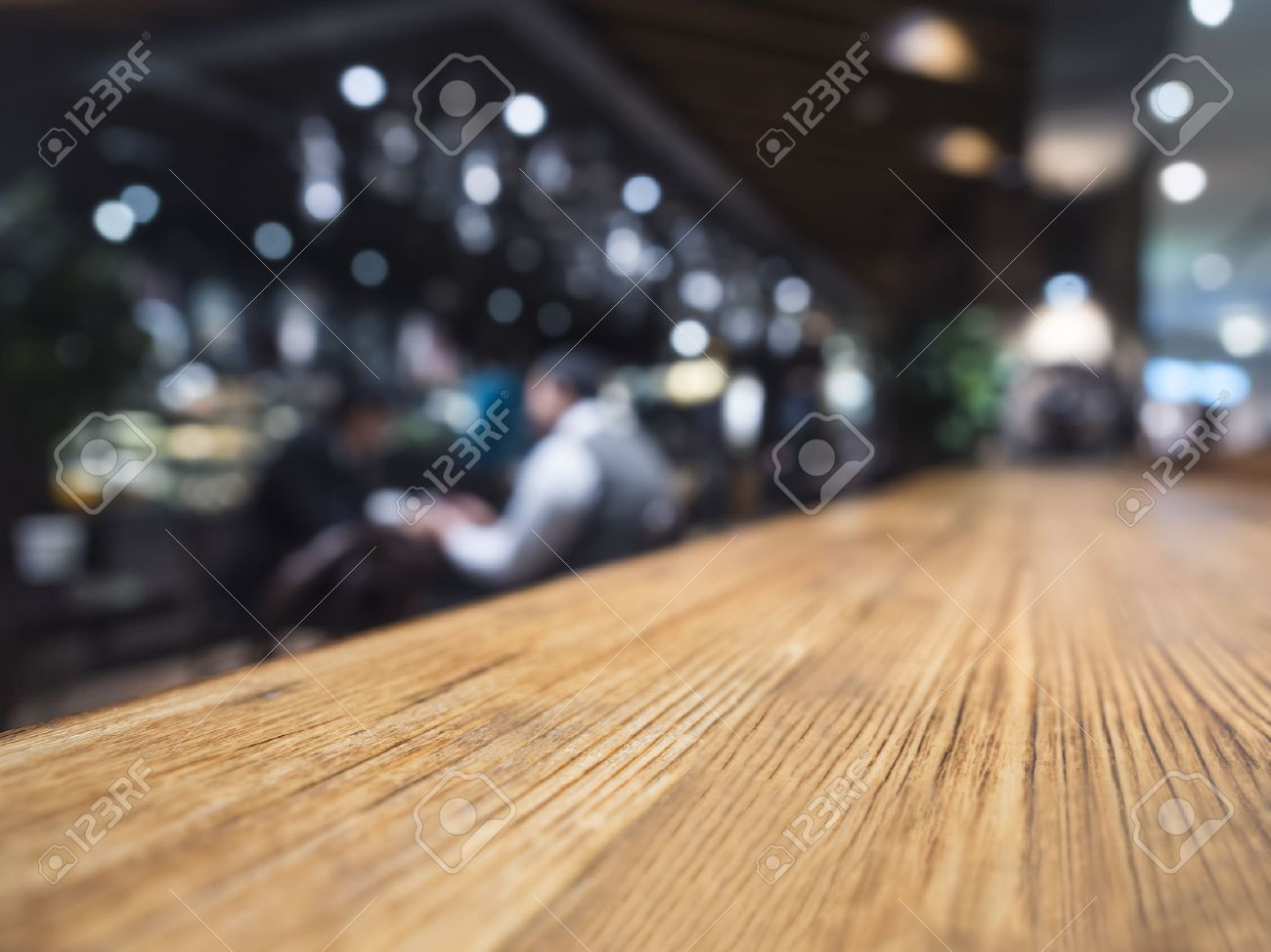 Table Top Counter Bar Restaurant Background With People Banque Du0027images    46933017