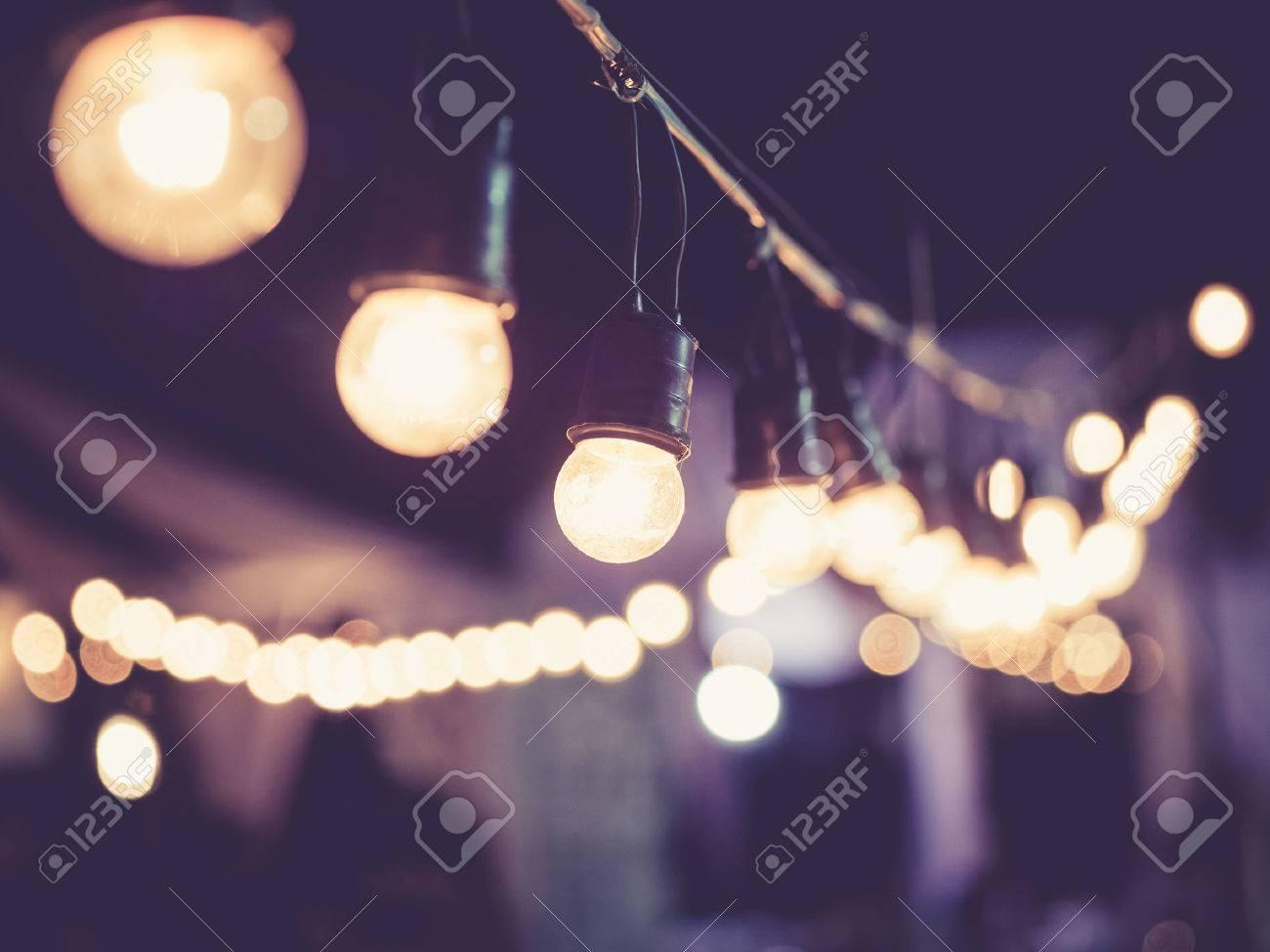 Lights decoration Event Festival outdoor Vintage tone - 53630122