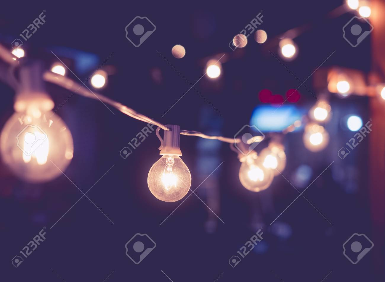 Light decoration Event Festival outdoor Vintage Holiday Background