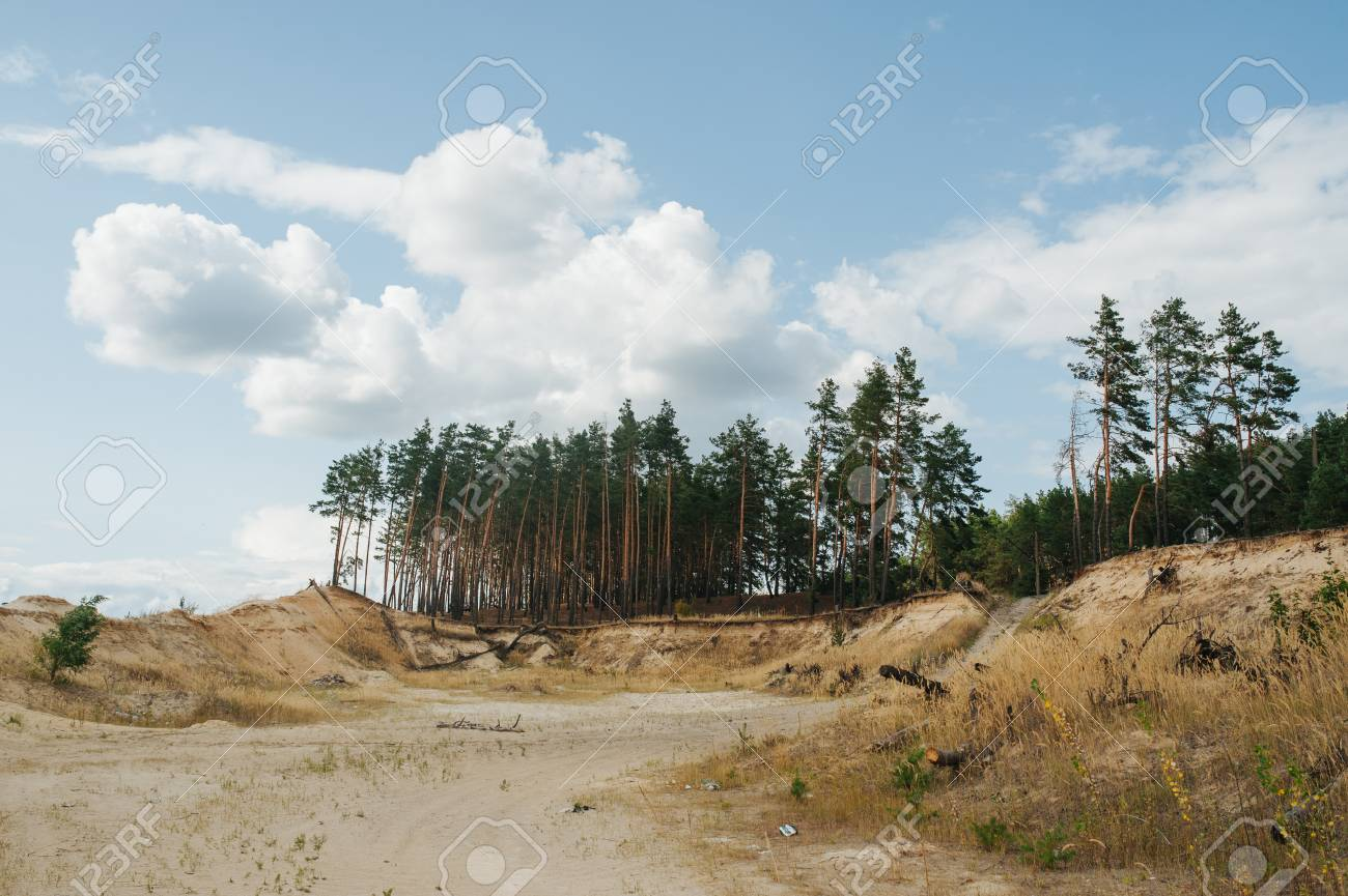 land and soil pollution pictures