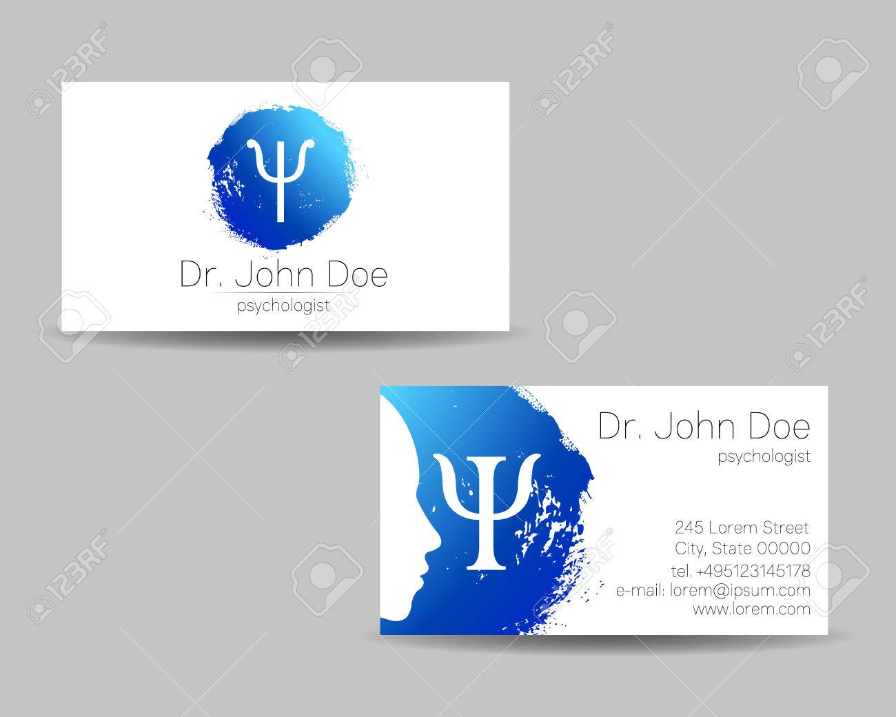 Business Background Vector Visiting Card Design Best Ppt Template 2020