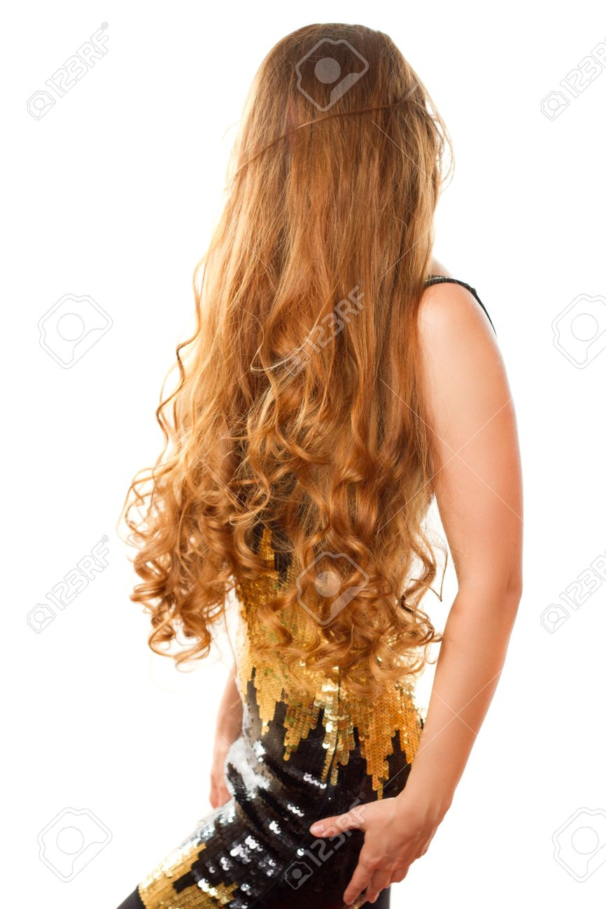 very long curly hair Stock Photo - 10351813