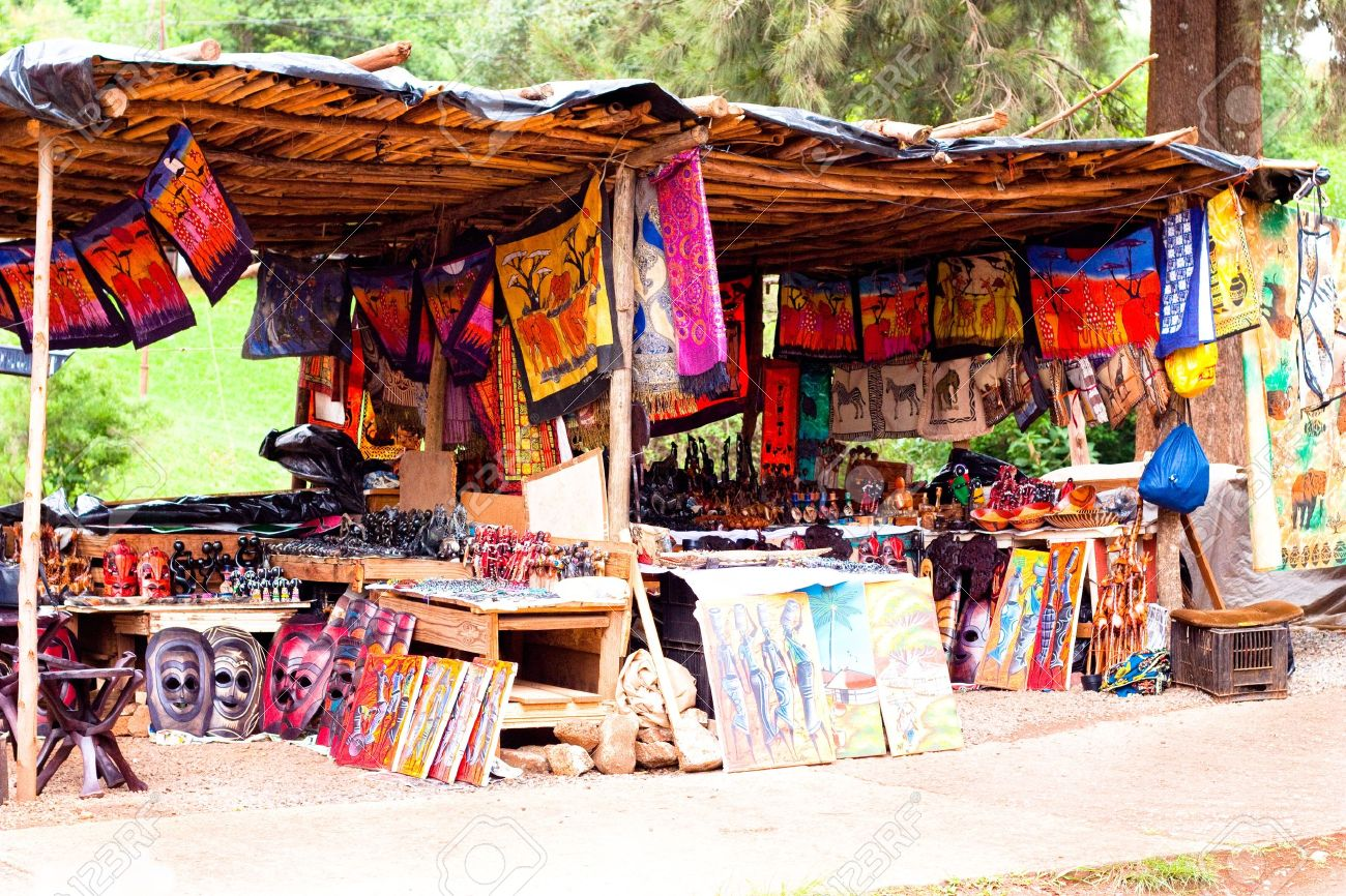 gift shop in Africa Stock Photo - 10707594