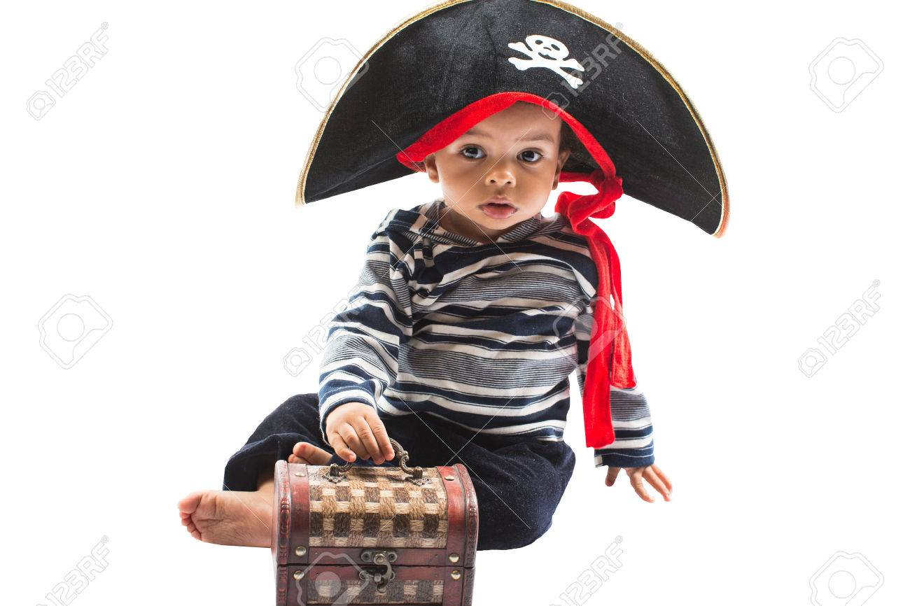African american child boy in costume pirate on white background Baby Halloween Fancy Costume and holiday  sc 1 st  123RF.com : african american costume  - Germanpascual.Com