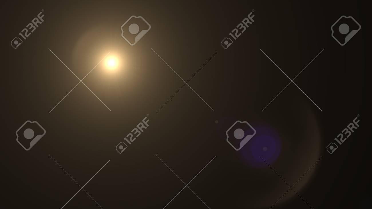 Beautiful light flares - 76572276