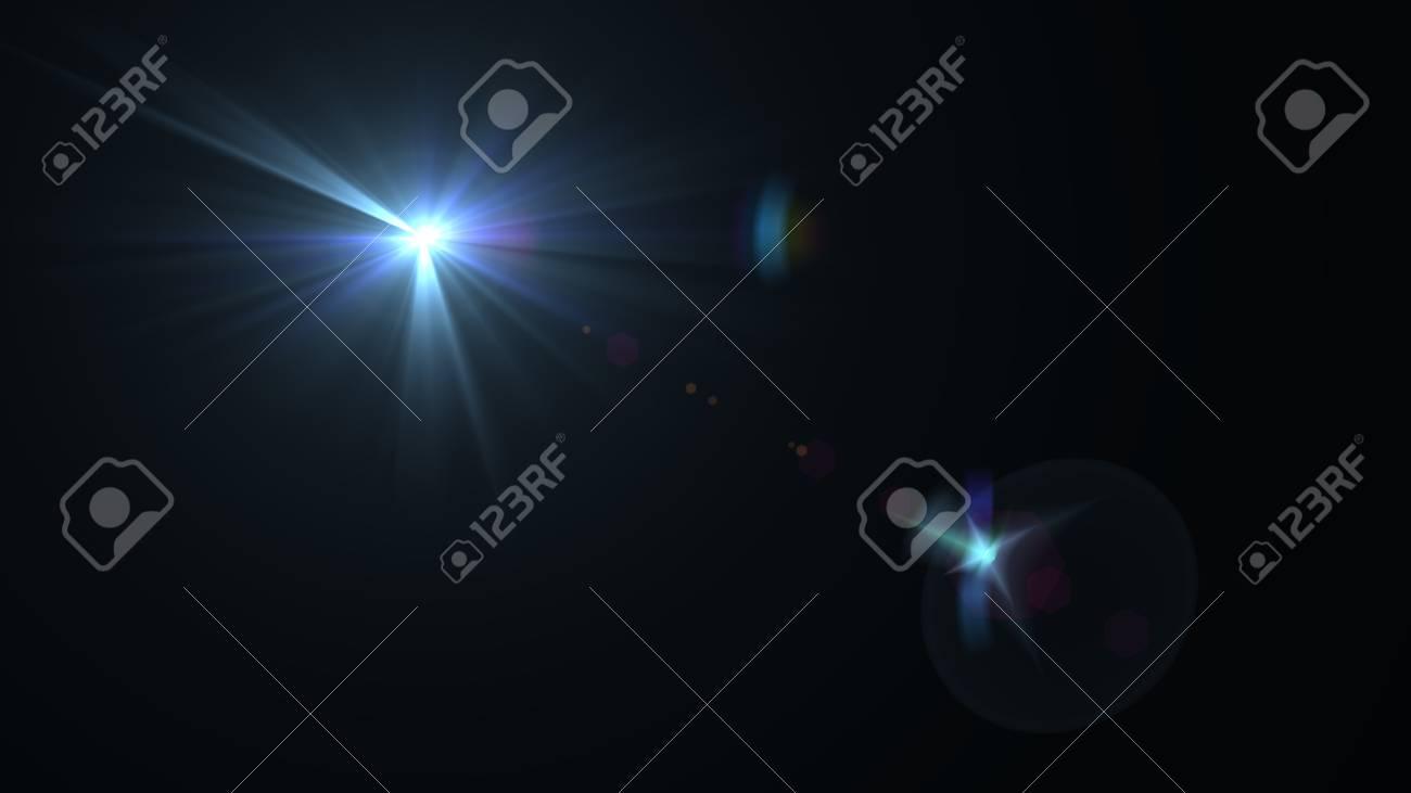 Beautiful light flares - 76654915