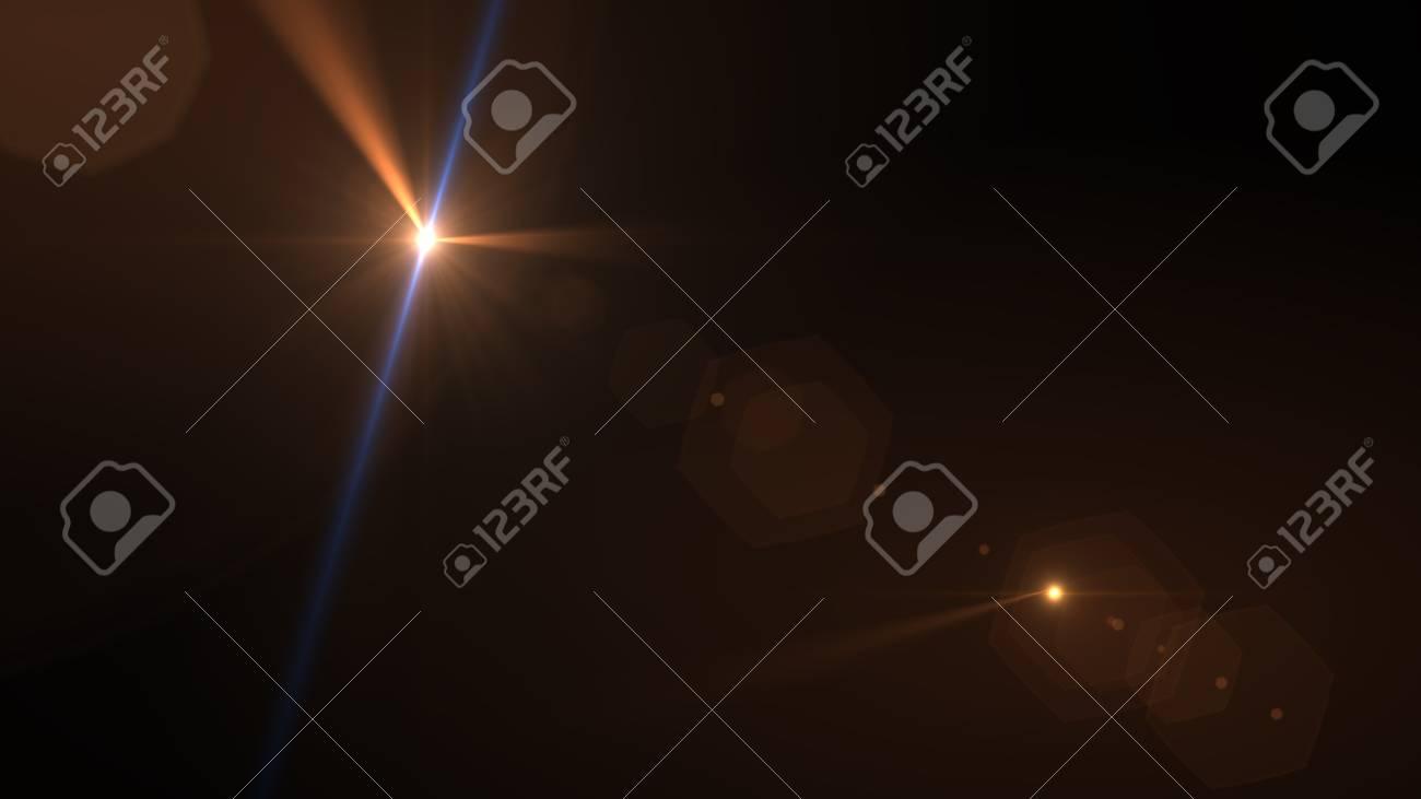 Beautiful light flares - 76572381