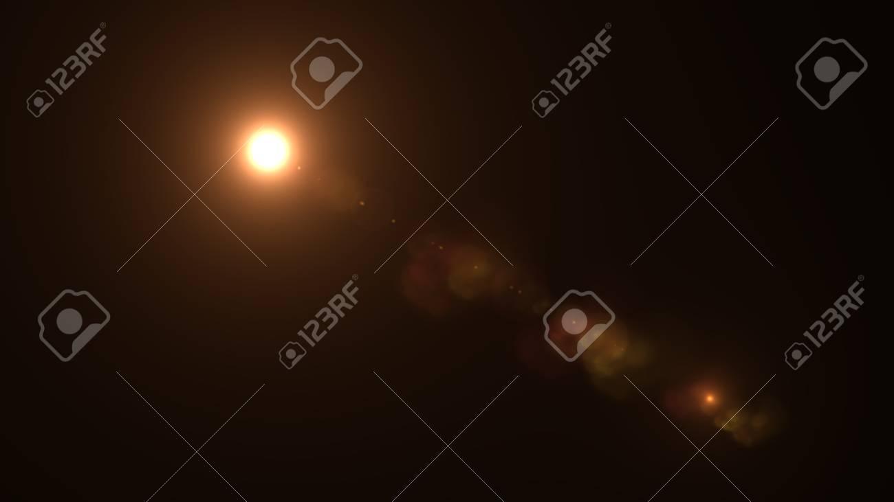 Beautiful light flares - 76572318