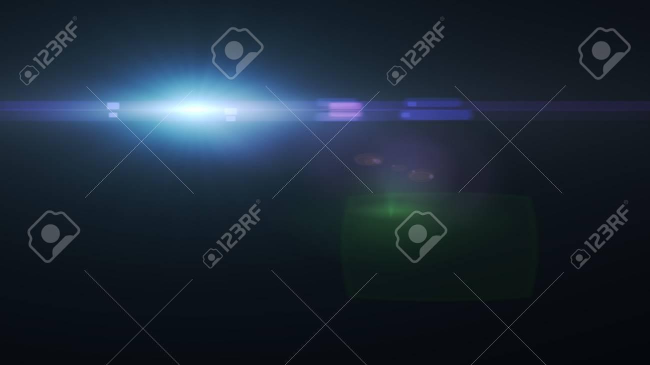 Beautiful light flares - 76654914