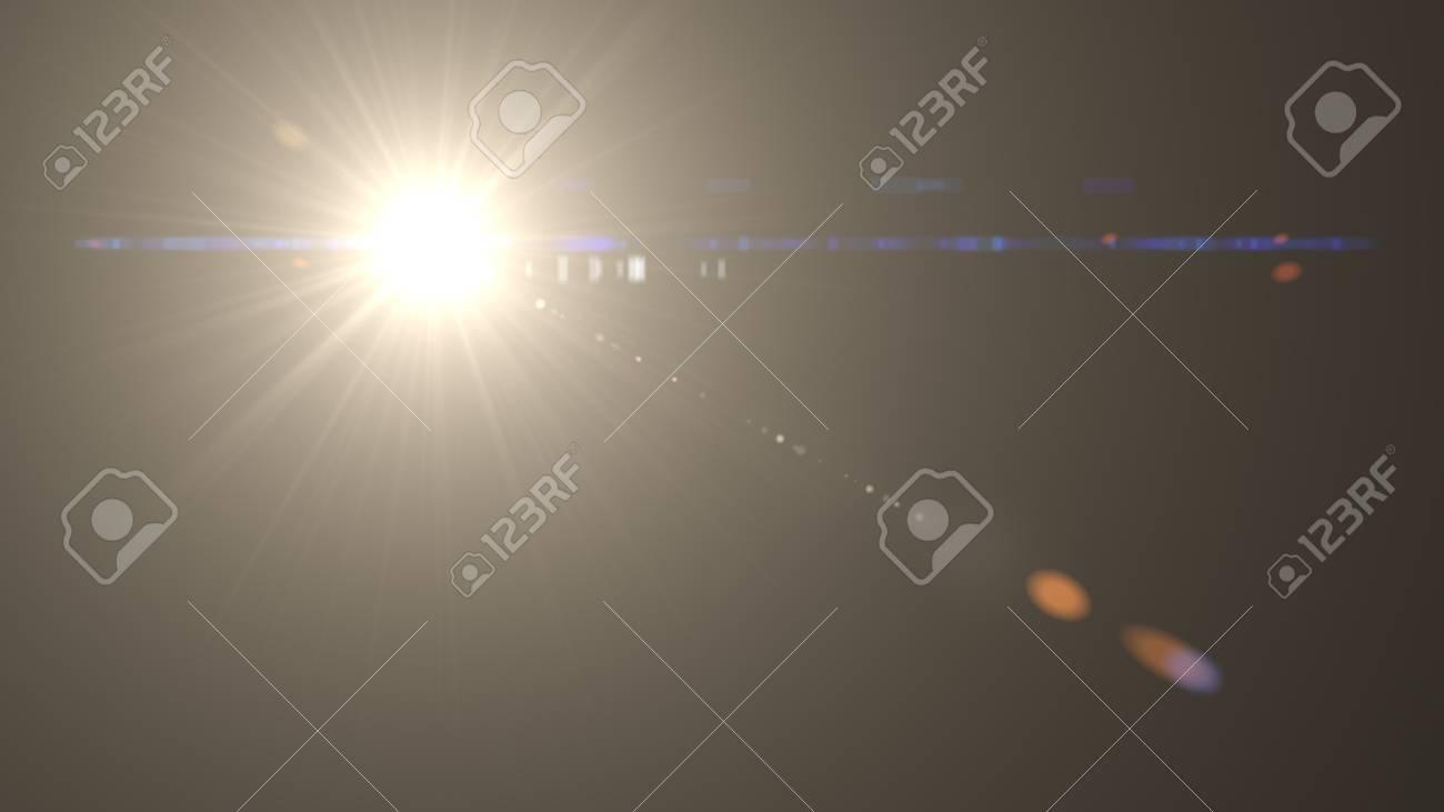 Beautiful light flares - 77819820