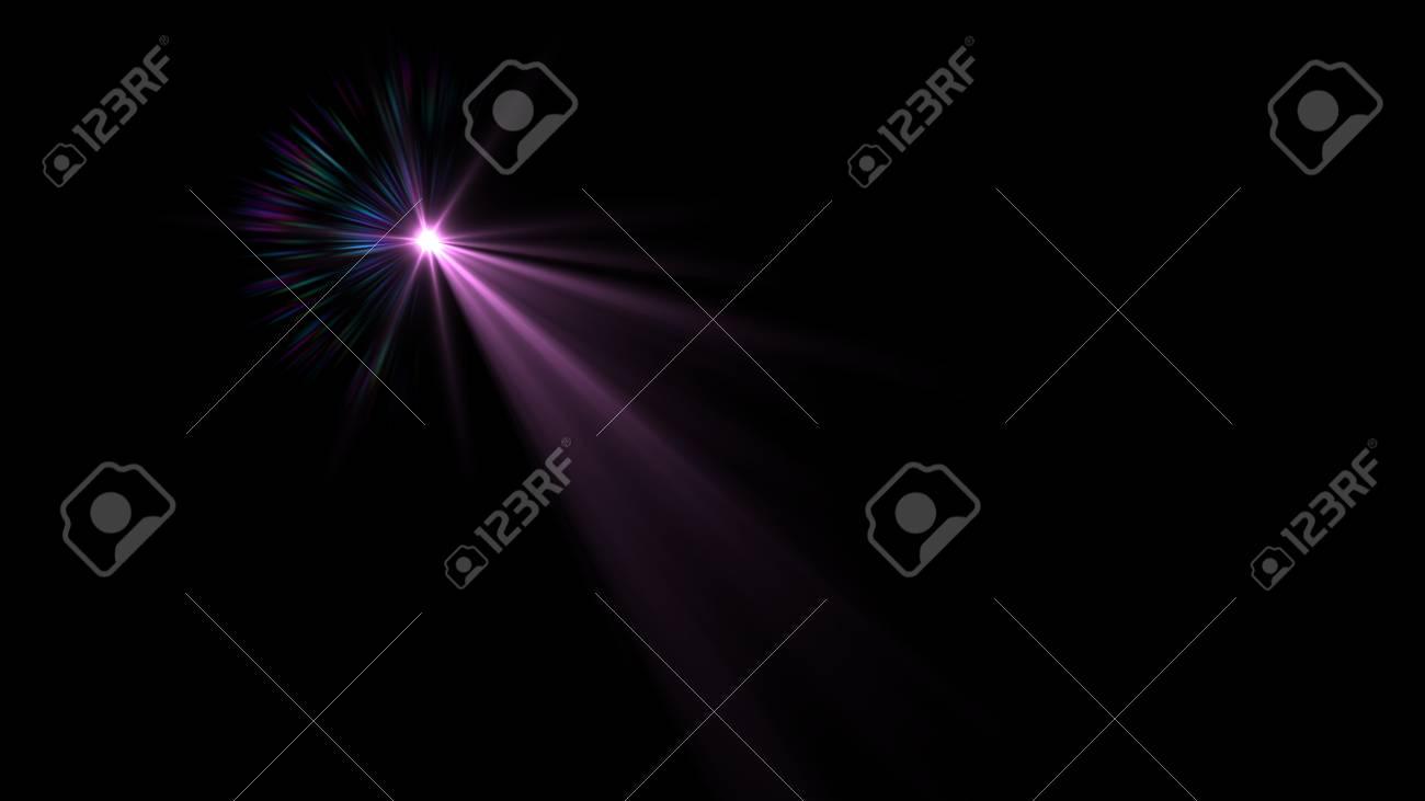 Beautiful light flares - 76526104