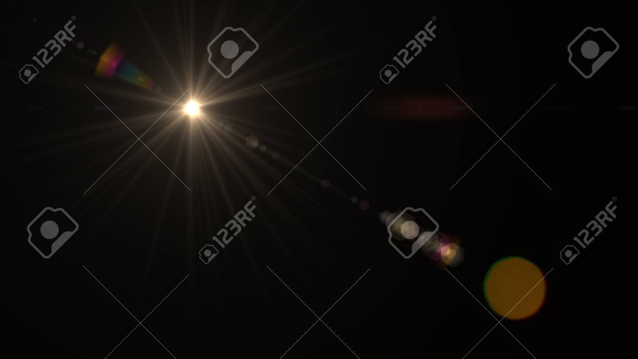 Beautiful light flares - 76526230