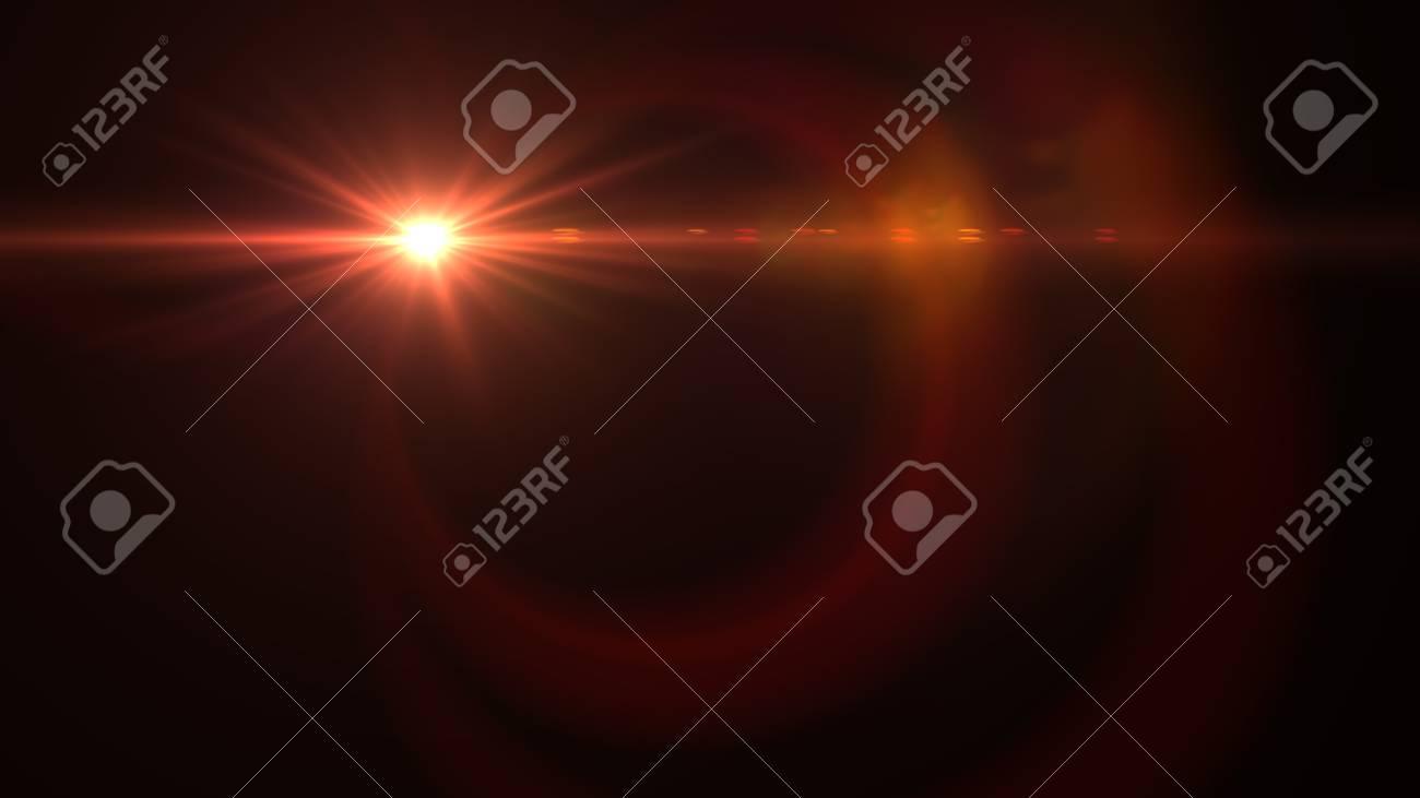 Beautiful light flares - 76572321