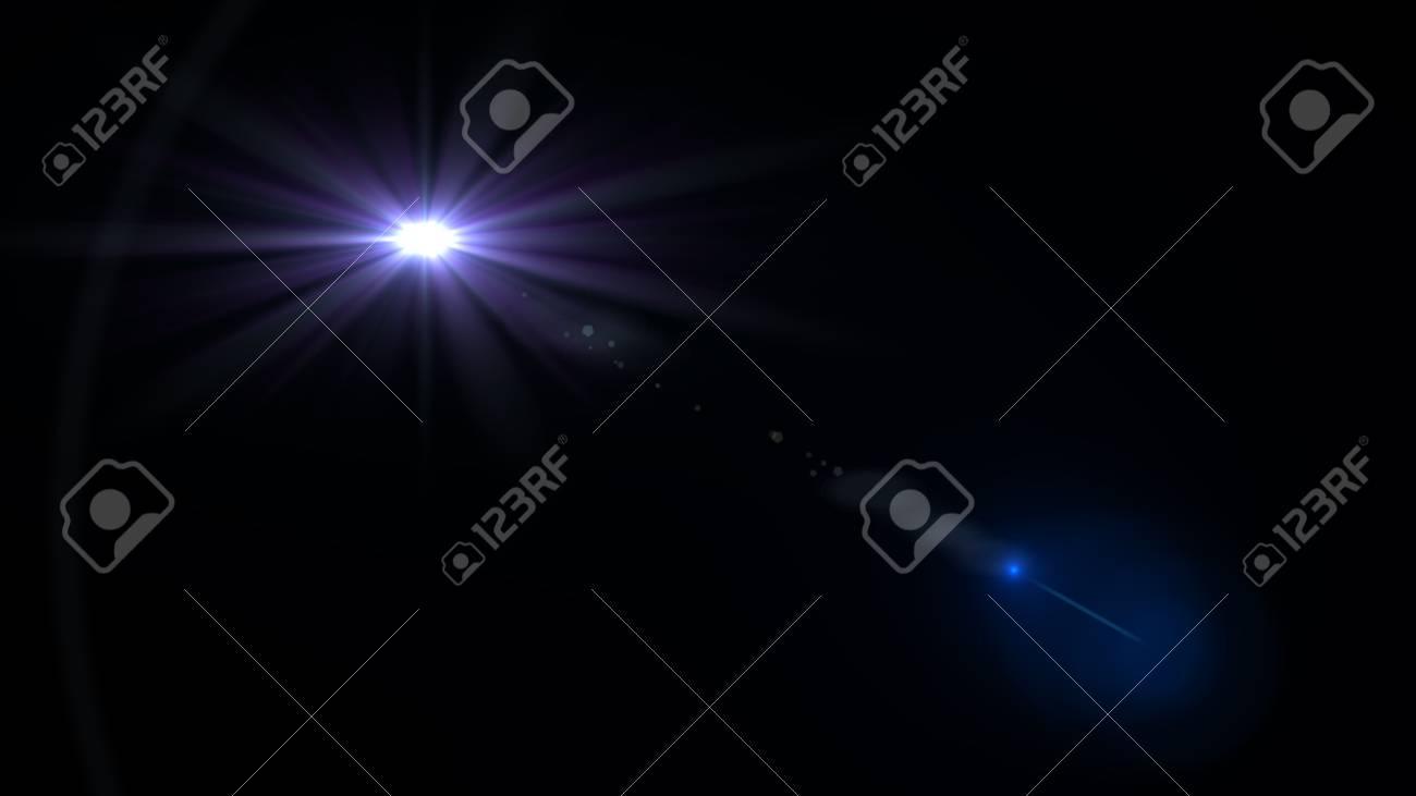 Beautiful light flares - 76526229
