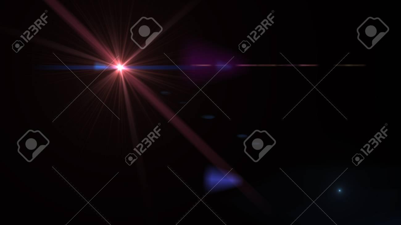 Beautiful light flares - 76526102