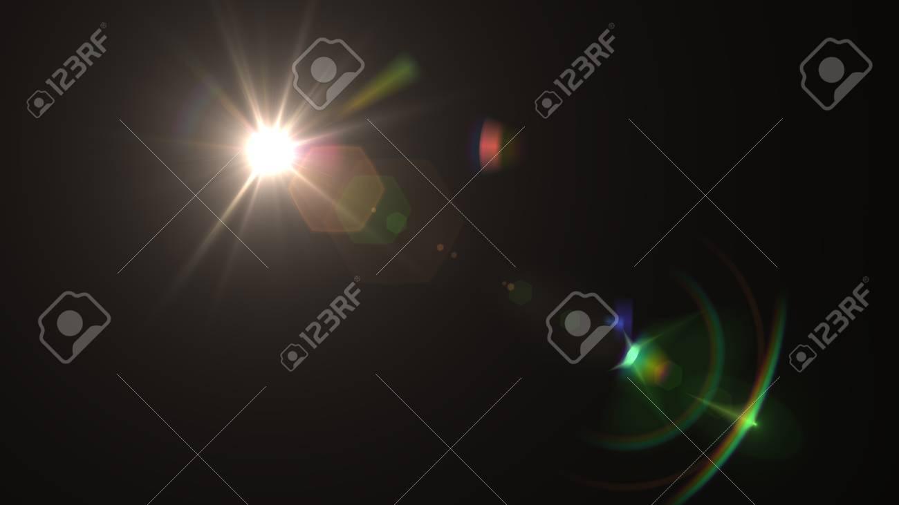 Beautiful light flares - 76526228