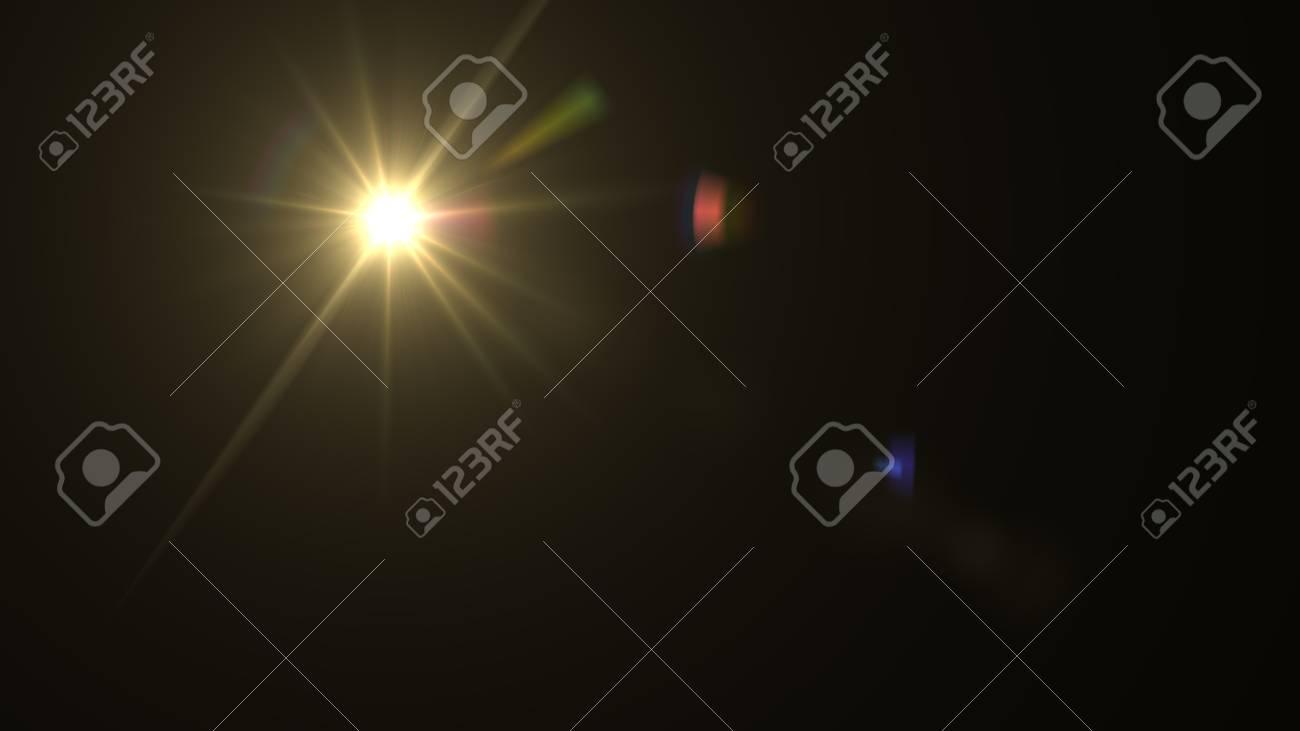 Beautiful light flares - 76572320