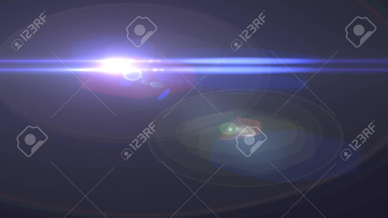 Beautiful light flares - 77404375