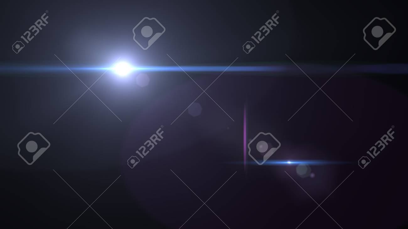 Beautiful light flares. Glowing streaks on dark background. luminous background - 76557297