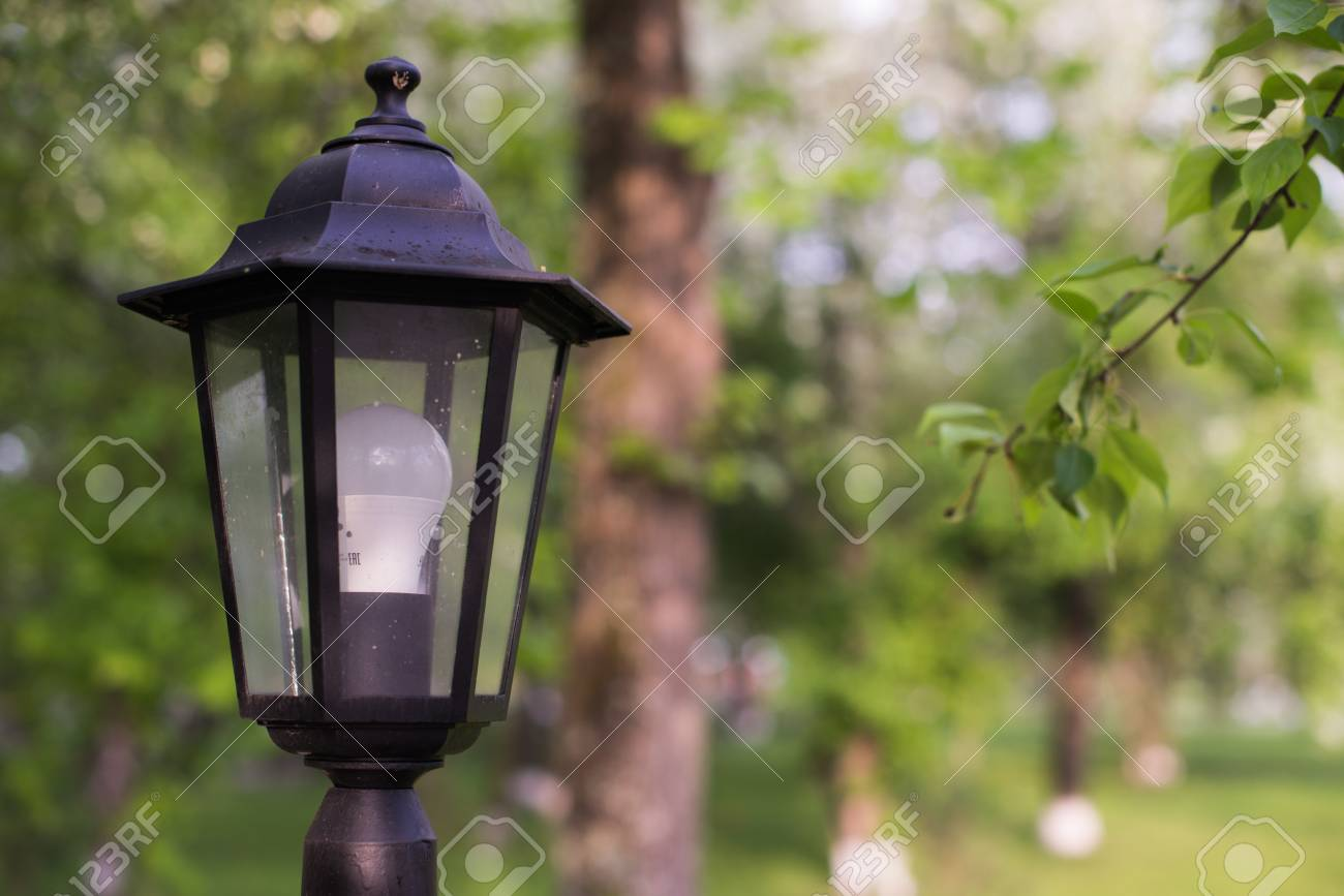 Retro Lampen Led : Led street lamp. retro style lantern with modern lighting technology