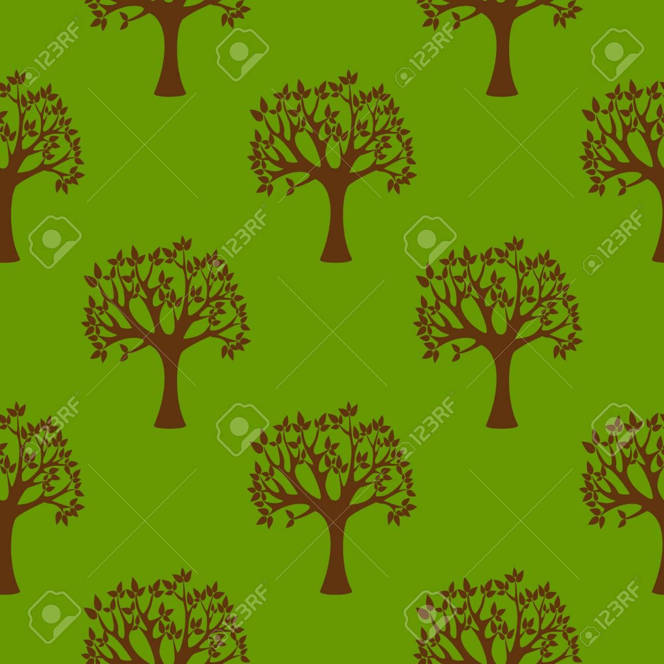 Abstract Grunge Baum Natur Umwelt Oko Okologie Nahtlose Muster