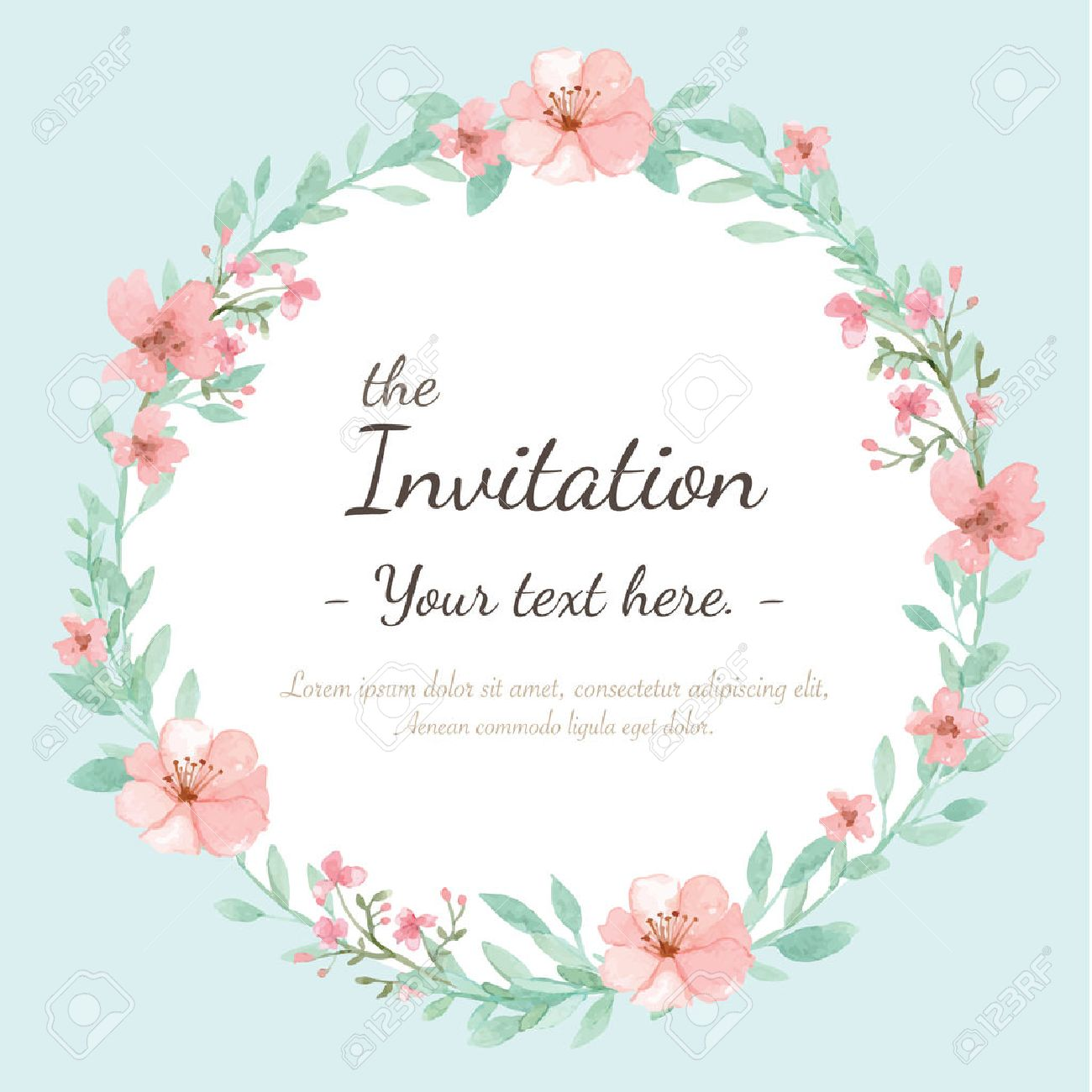Einvitation Card Invitation Free Vector Art 4713 Free Downloads